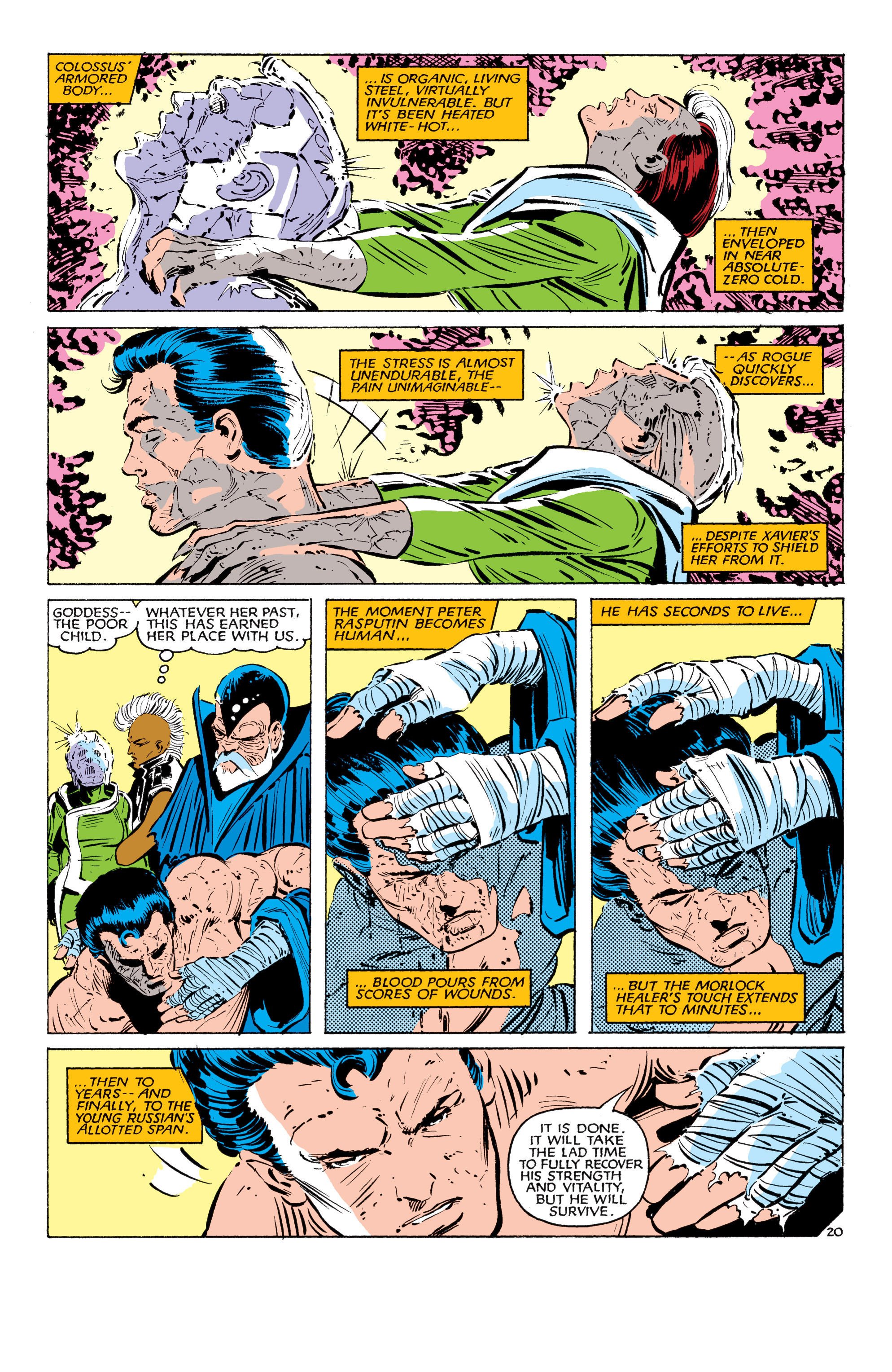 Read online Uncanny X-Men (1963) comic -  Issue #179 - 21