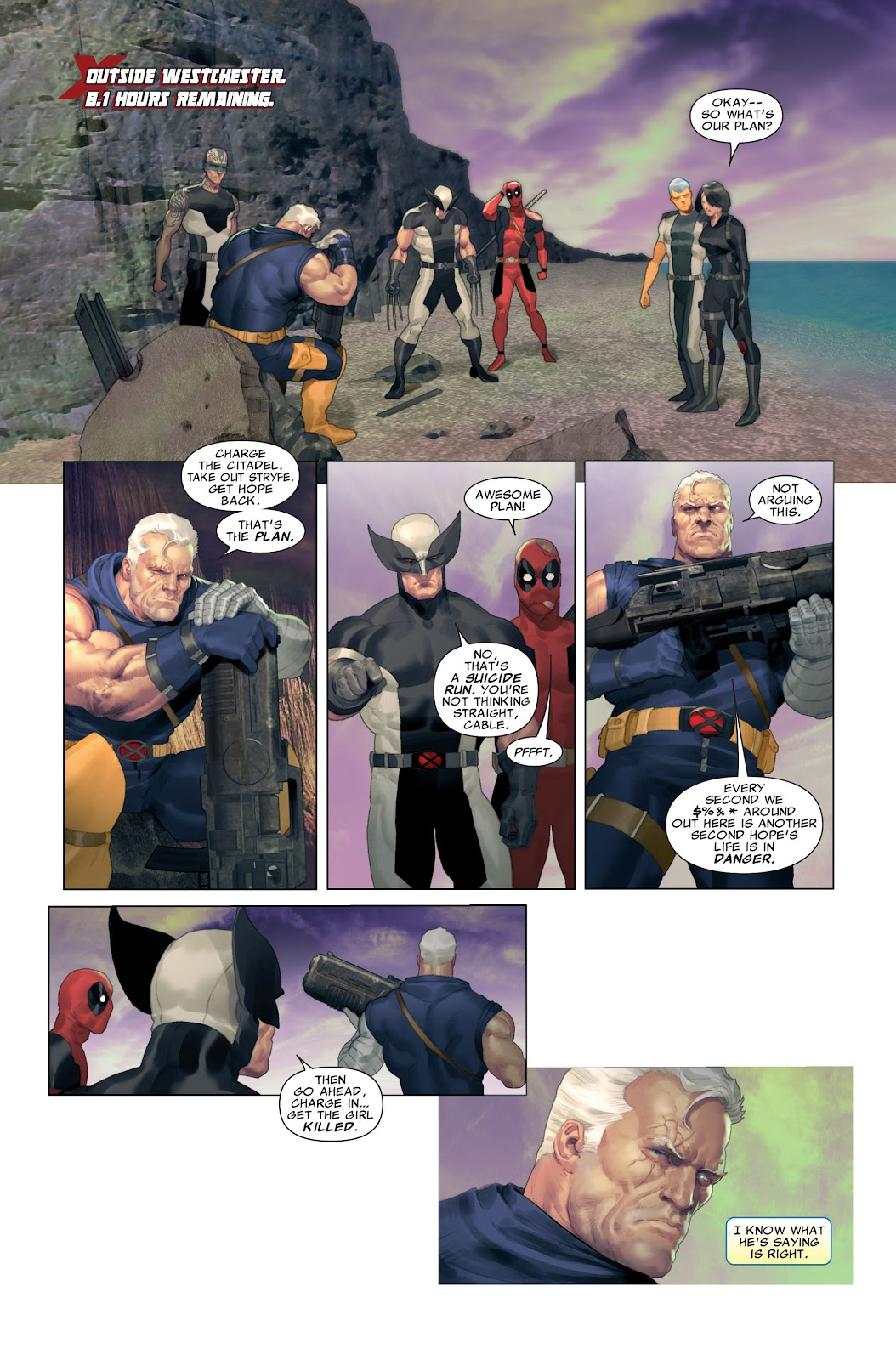 Read online X-Force/Cable: Messiah War comic -  Issue # _TPB (Part 2) - 44