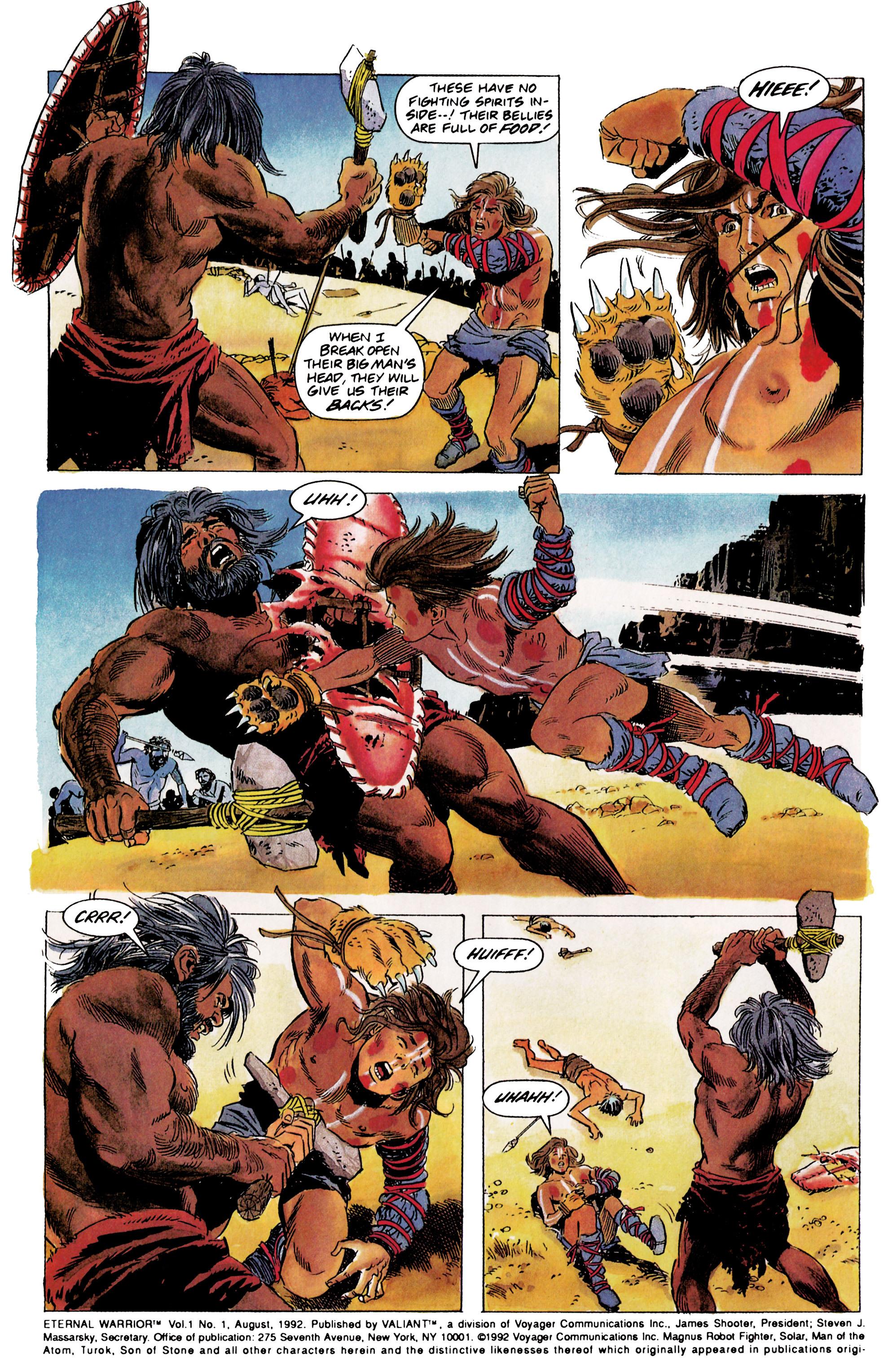 Read online Eternal Warrior (1992) comic -  Issue #1 - 3