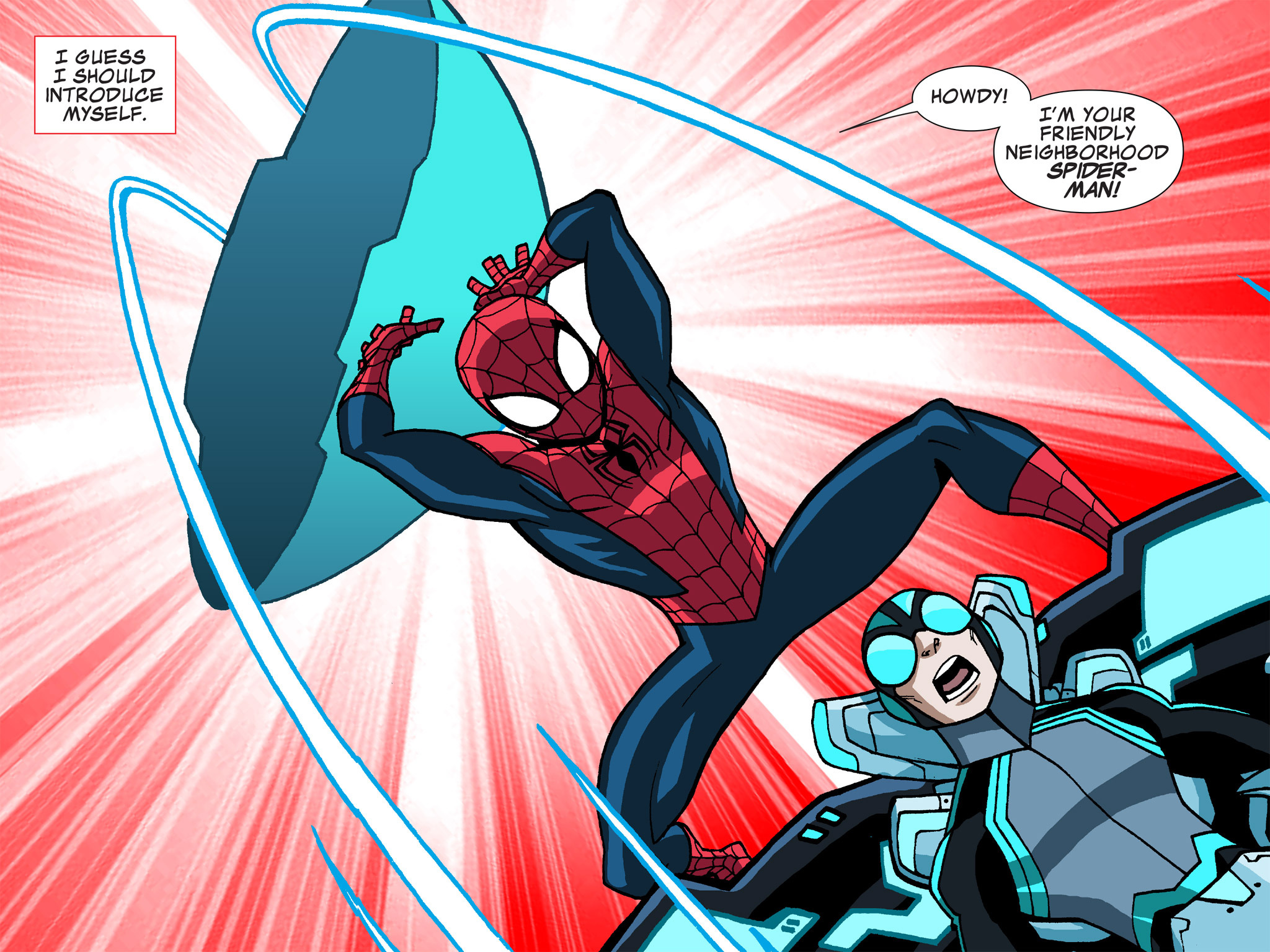 Read online Ultimate Spider-Man (Infinite Comics) (2015) comic -  Issue #13 - 38