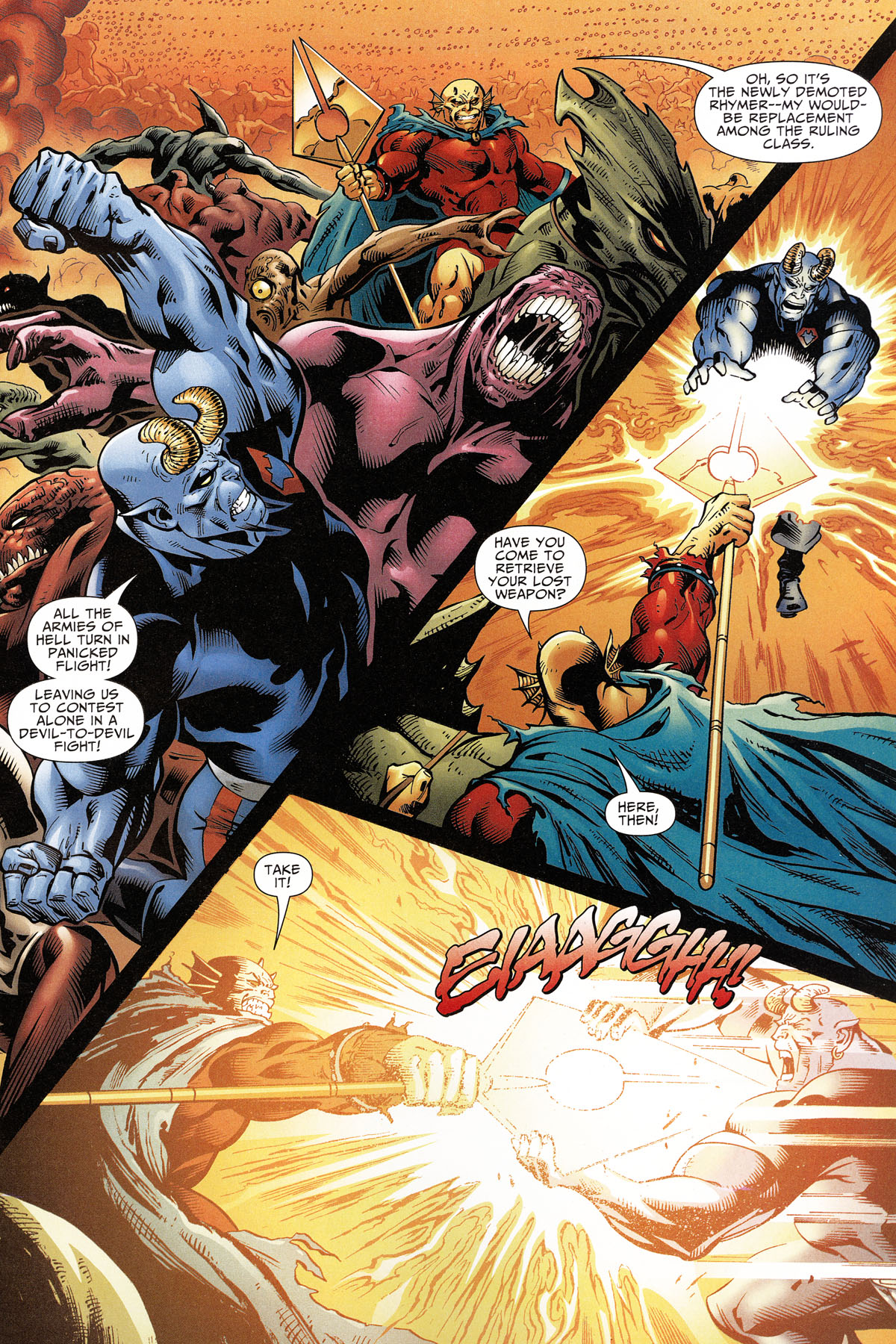 Read online Shadowpact comic -  Issue #11 - 11