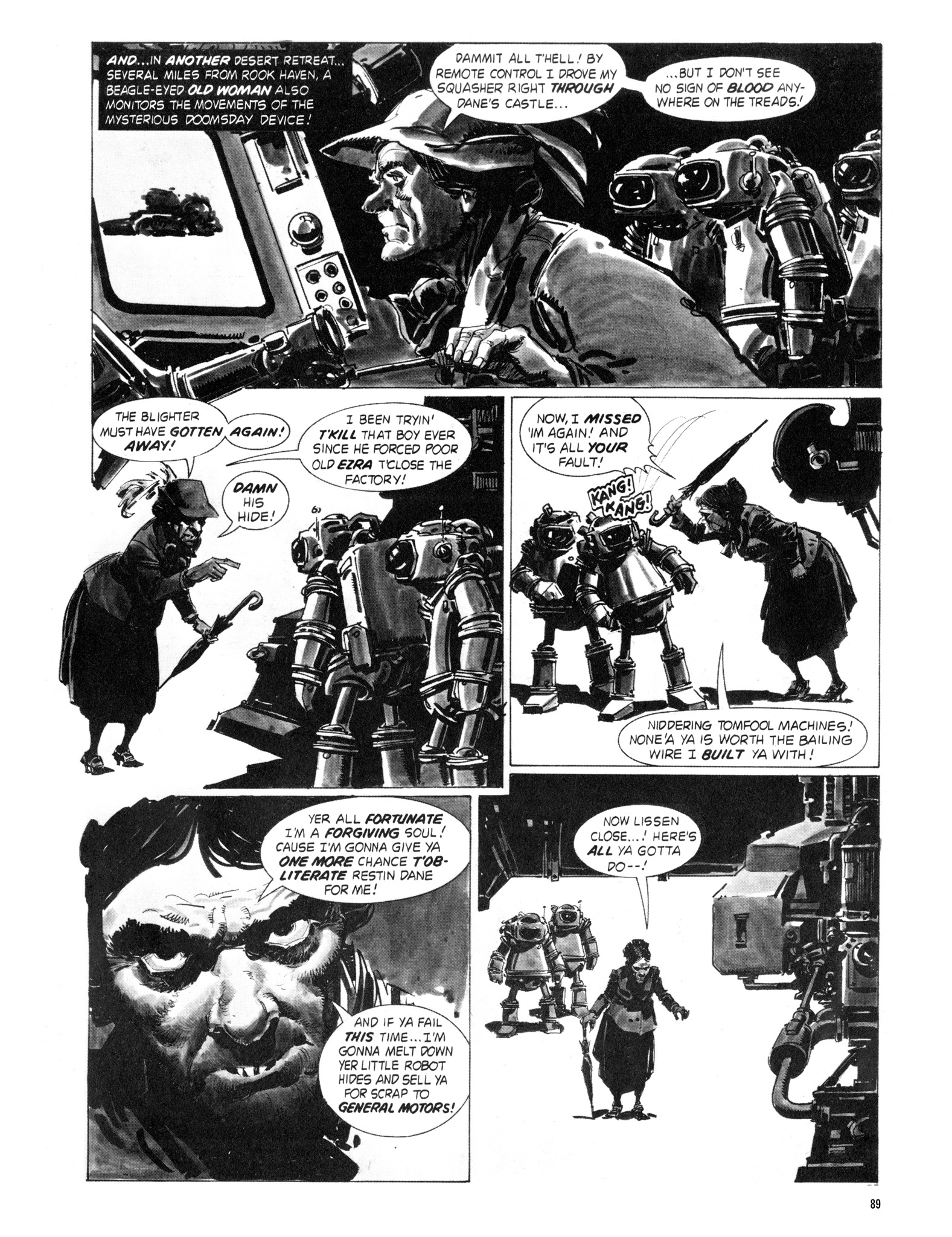 Read online Eerie Archives comic -  Issue # TPB 18 - 90