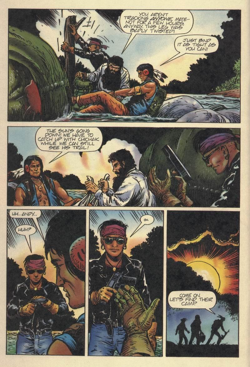 Read online Turok, Dinosaur Hunter (1993) comic -  Issue #8 - 16