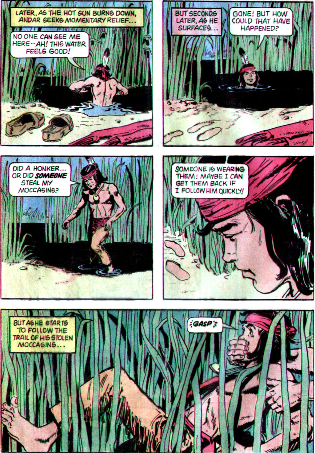 Read online Turok, Son of Stone comic -  Issue #122 - 24