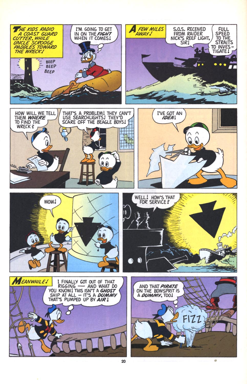Read online Uncle Scrooge (1953) comic -  Issue #280 - 21