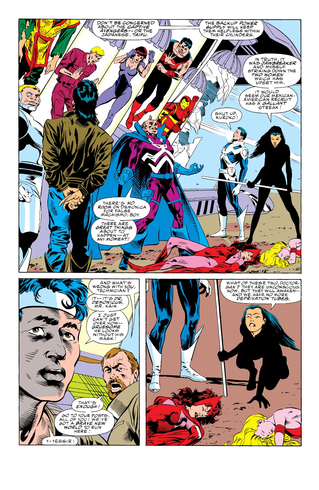 Avengers West Coast (1989) issue 74 - Page 3