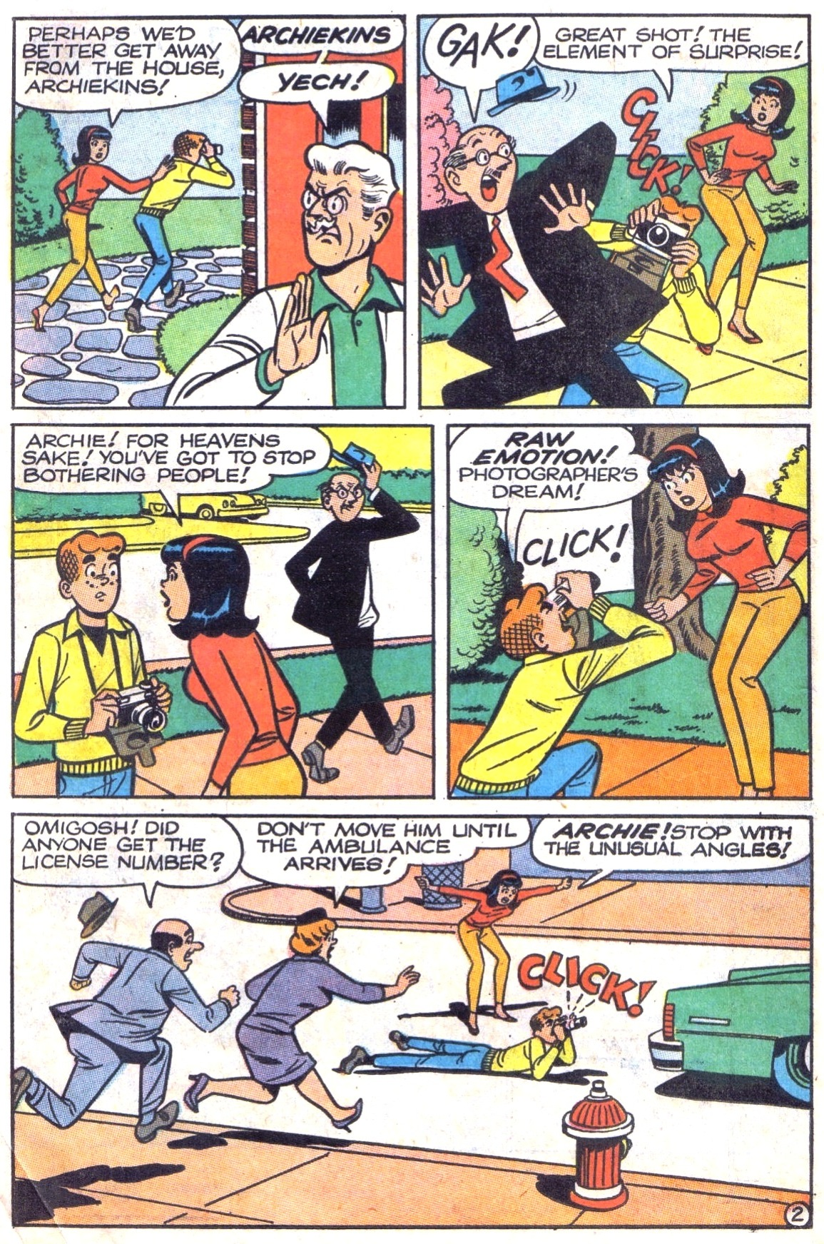 Read online Archie (1960) comic -  Issue #180 - 14