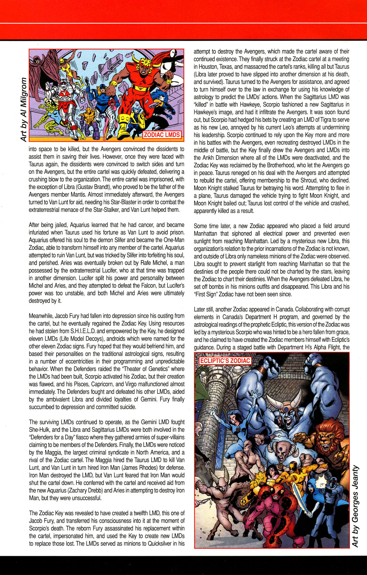 Read online All-New Official Handbook of the Marvel Universe A to Z comic -  Issue #12 - 60