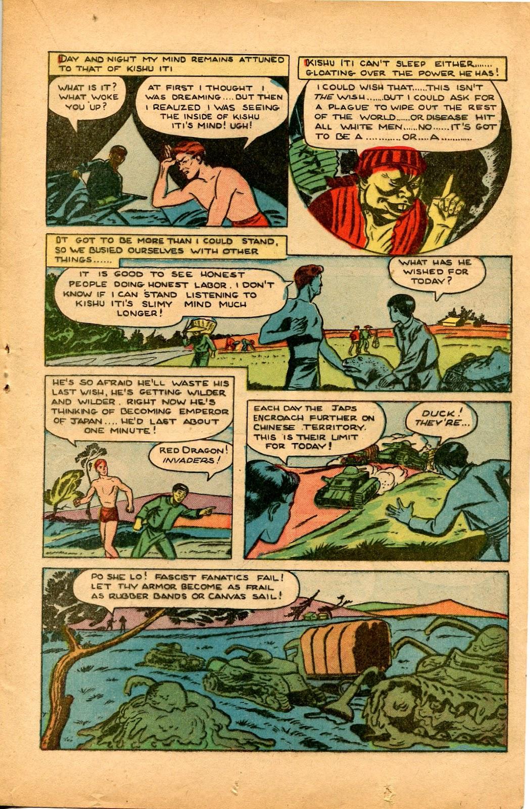Read online Super-Magician Comics comic -  Issue #33 - 21