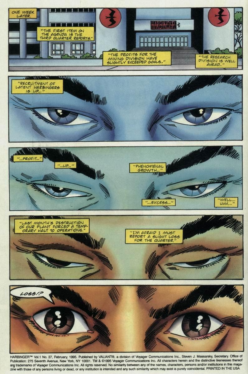 Read online Harbinger Files comic -  Issue #2 - 5
