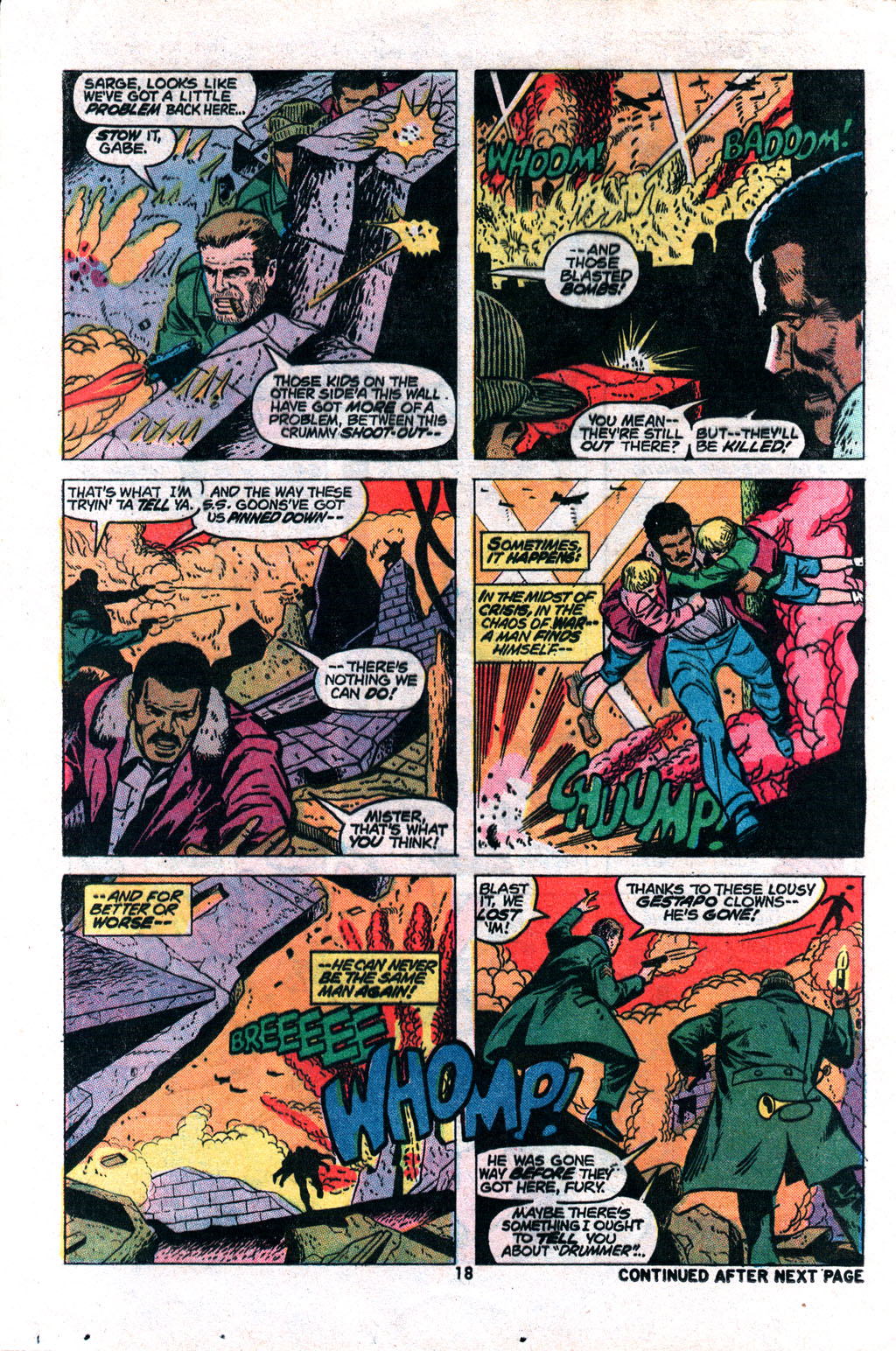 Read online Sgt. Fury comic -  Issue #117 - 20