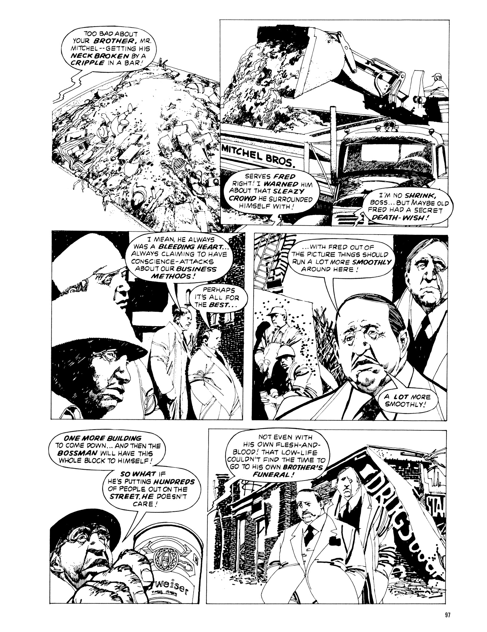 Read online Eerie Archives comic -  Issue # TPB 20 - 97