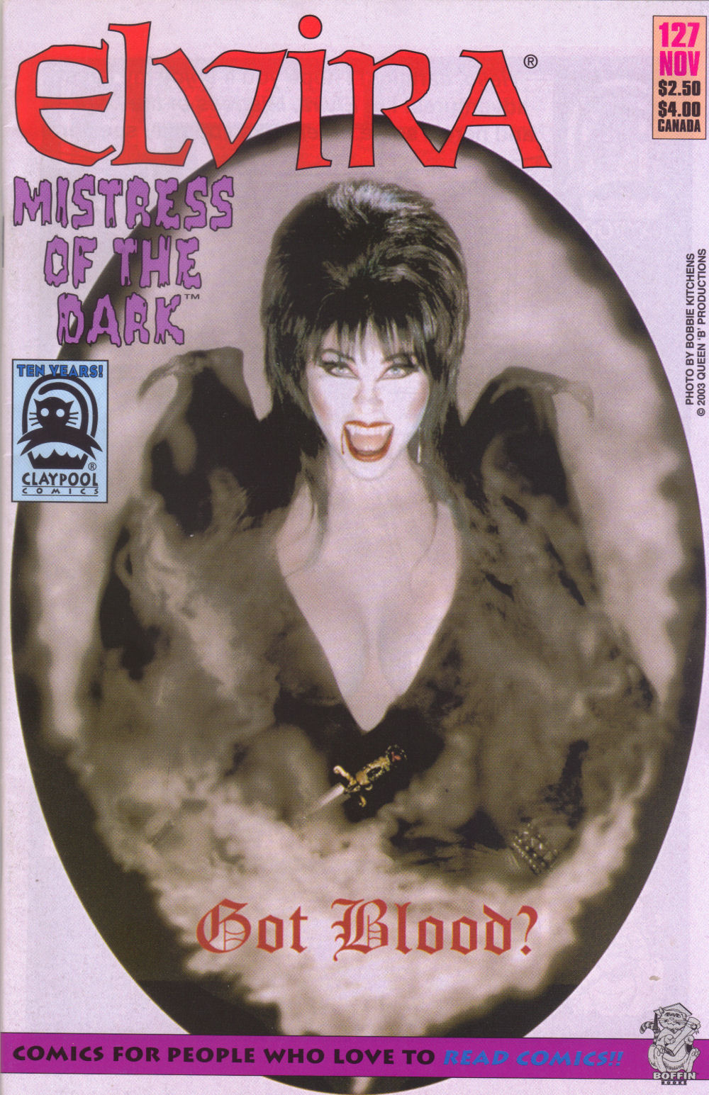 Read online Elvira, Mistress of the Dark comic -  Issue #127 - 1
