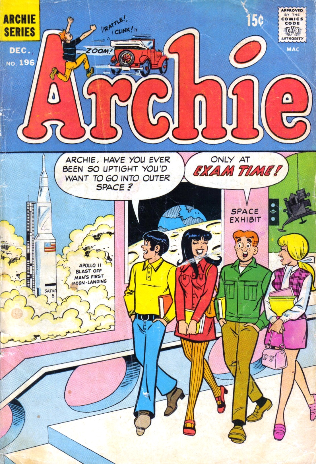 Read online Archie (1960) comic -  Issue #196 - 1