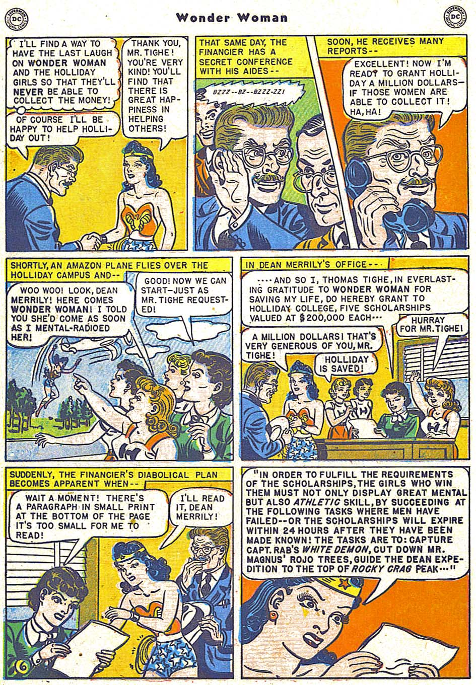 Read online Wonder Woman (1942) comic -  Issue #38 - 42