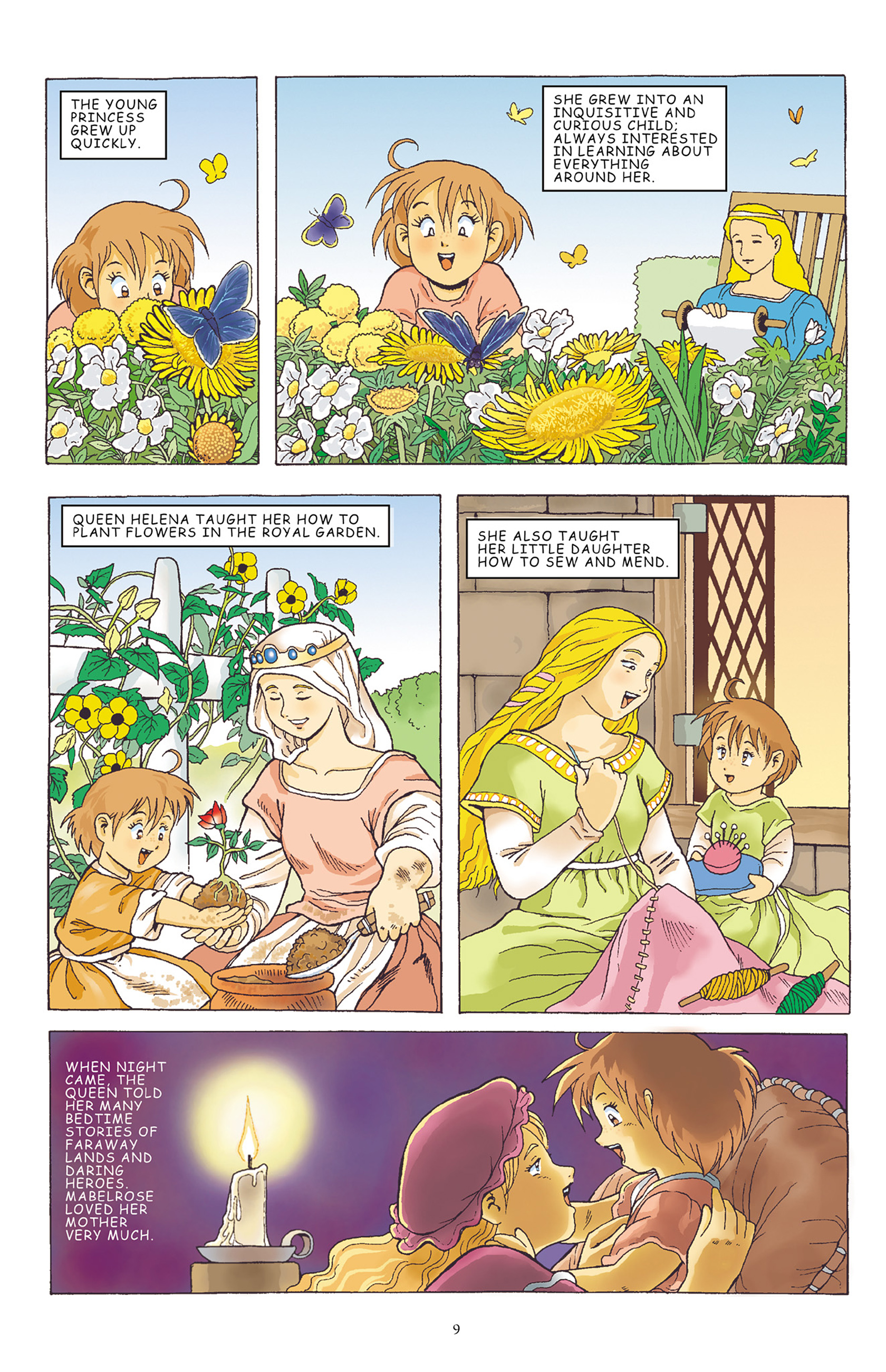 Read online Courageous Princess comic -  Issue # TPB 1 - 10