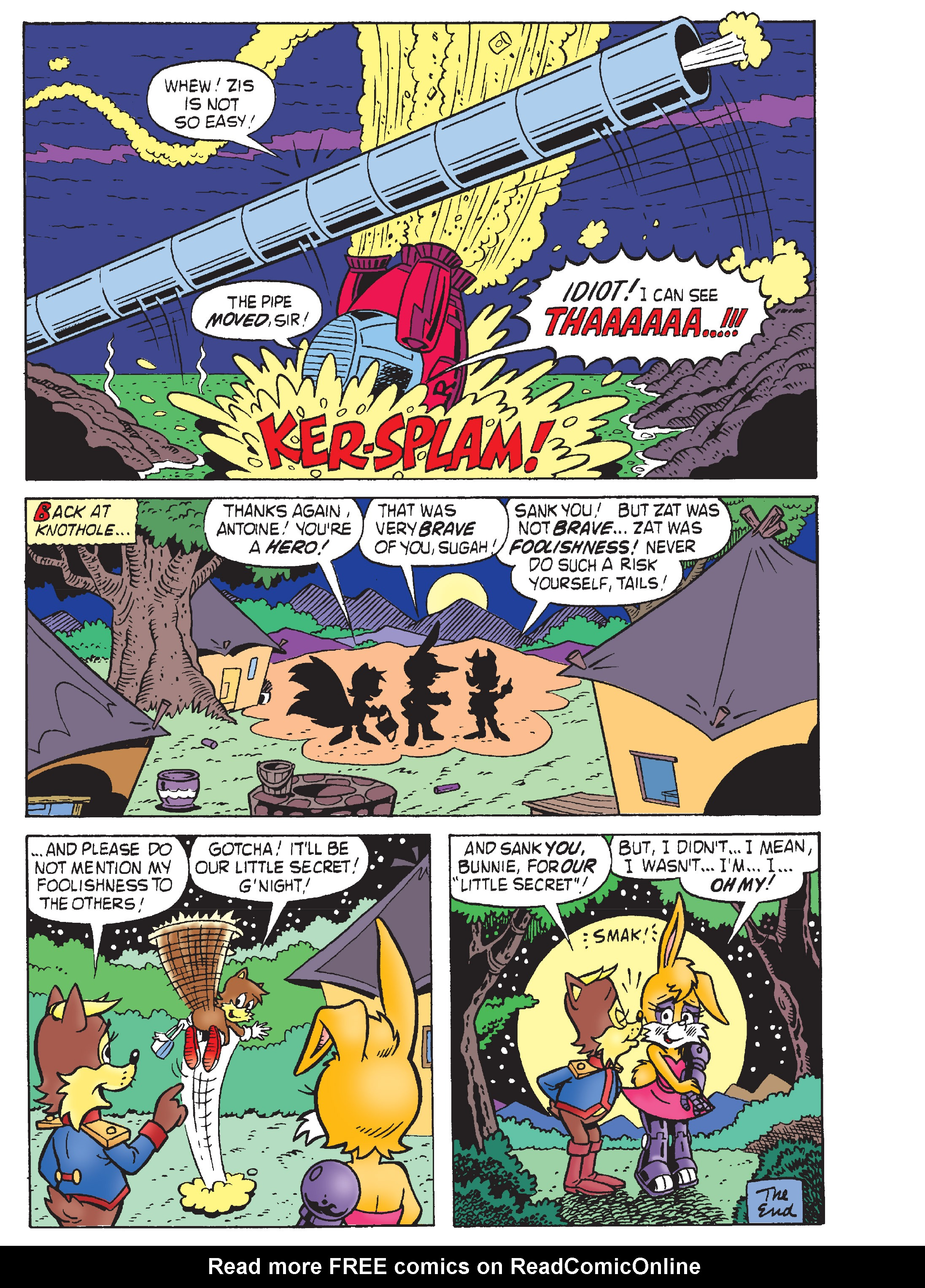 Read online Sonic Super Digest comic -  Issue #8 - 95