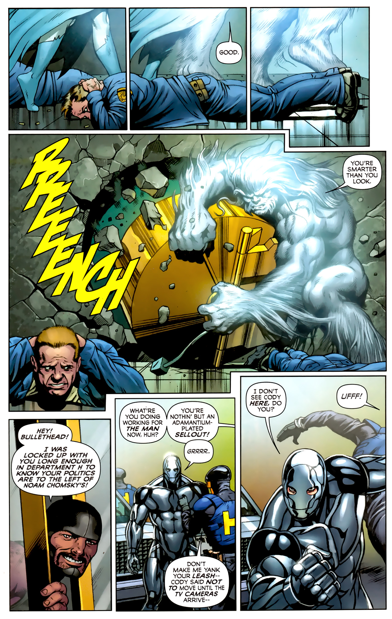 Read online Alpha Flight (2011) comic -  Issue #5 - 12