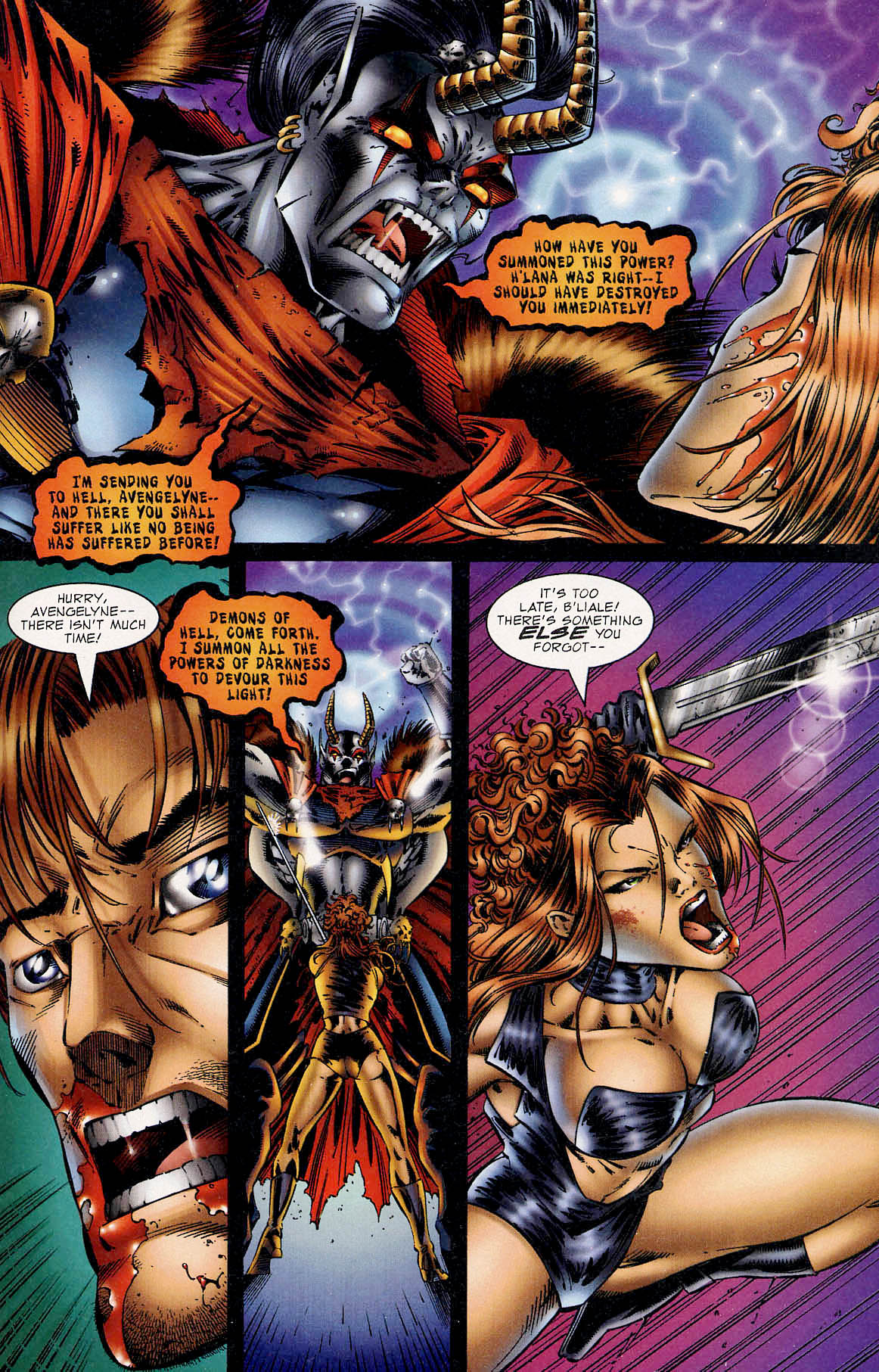 Read online Avengelyne (1995) comic -  Issue #3 - 21