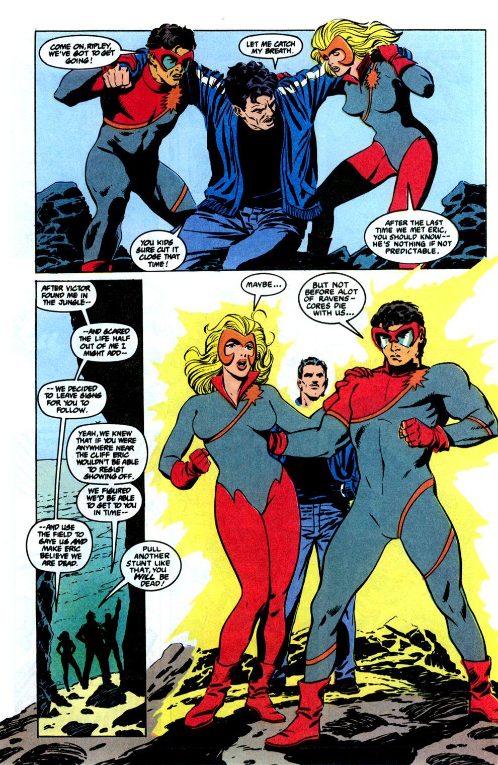 Read online Powerline comic -  Issue #8 - 28