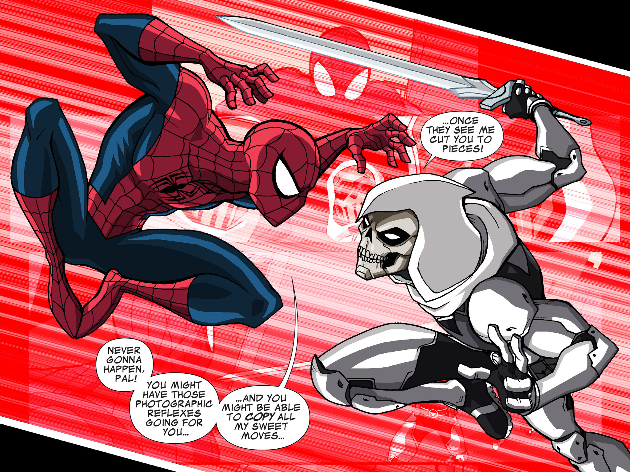 Read online Ultimate Spider-Man (Infinite Comics) (2015) comic -  Issue #15 - 27