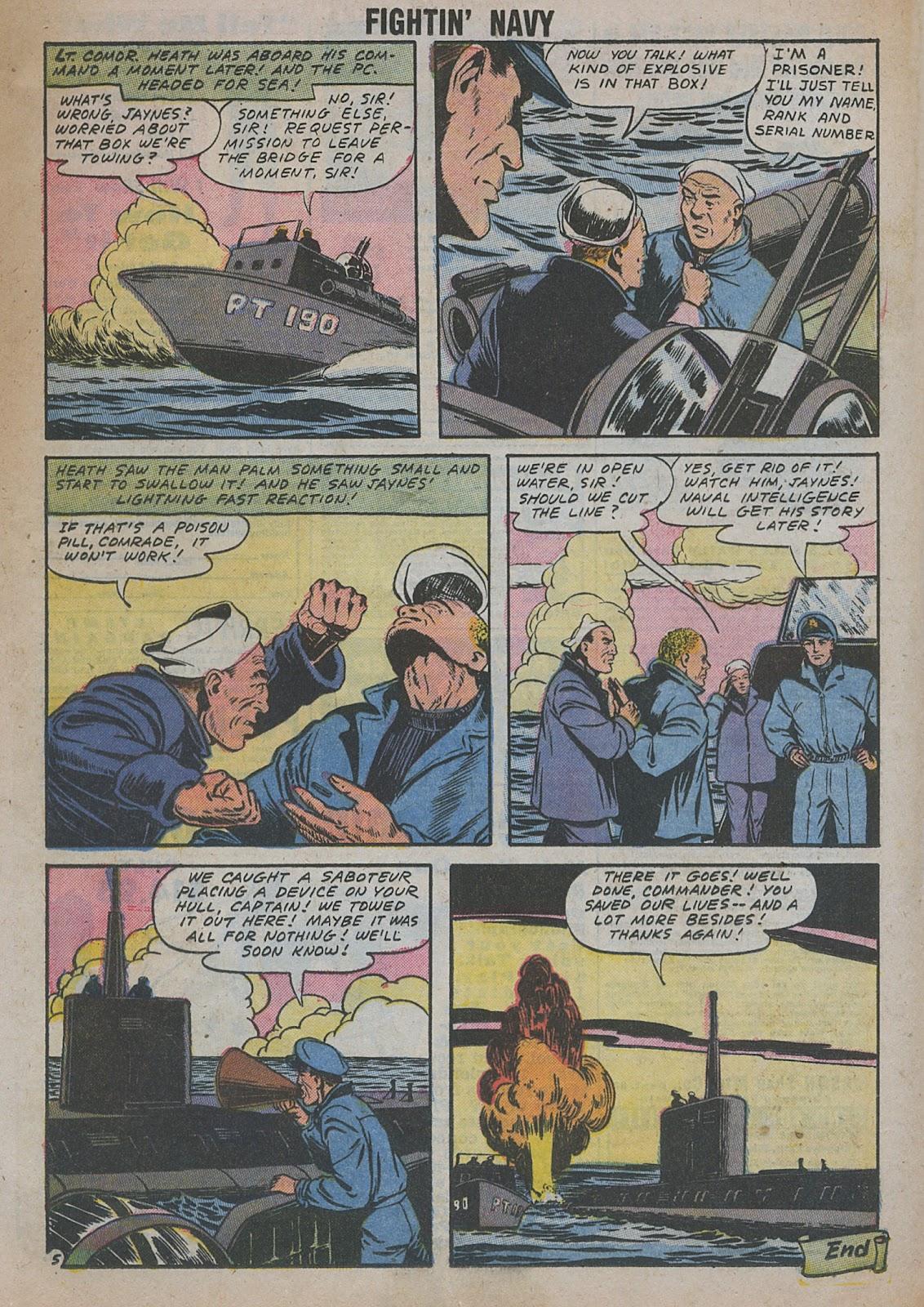 Read online Fightin' Navy comic -  Issue #82 - 47