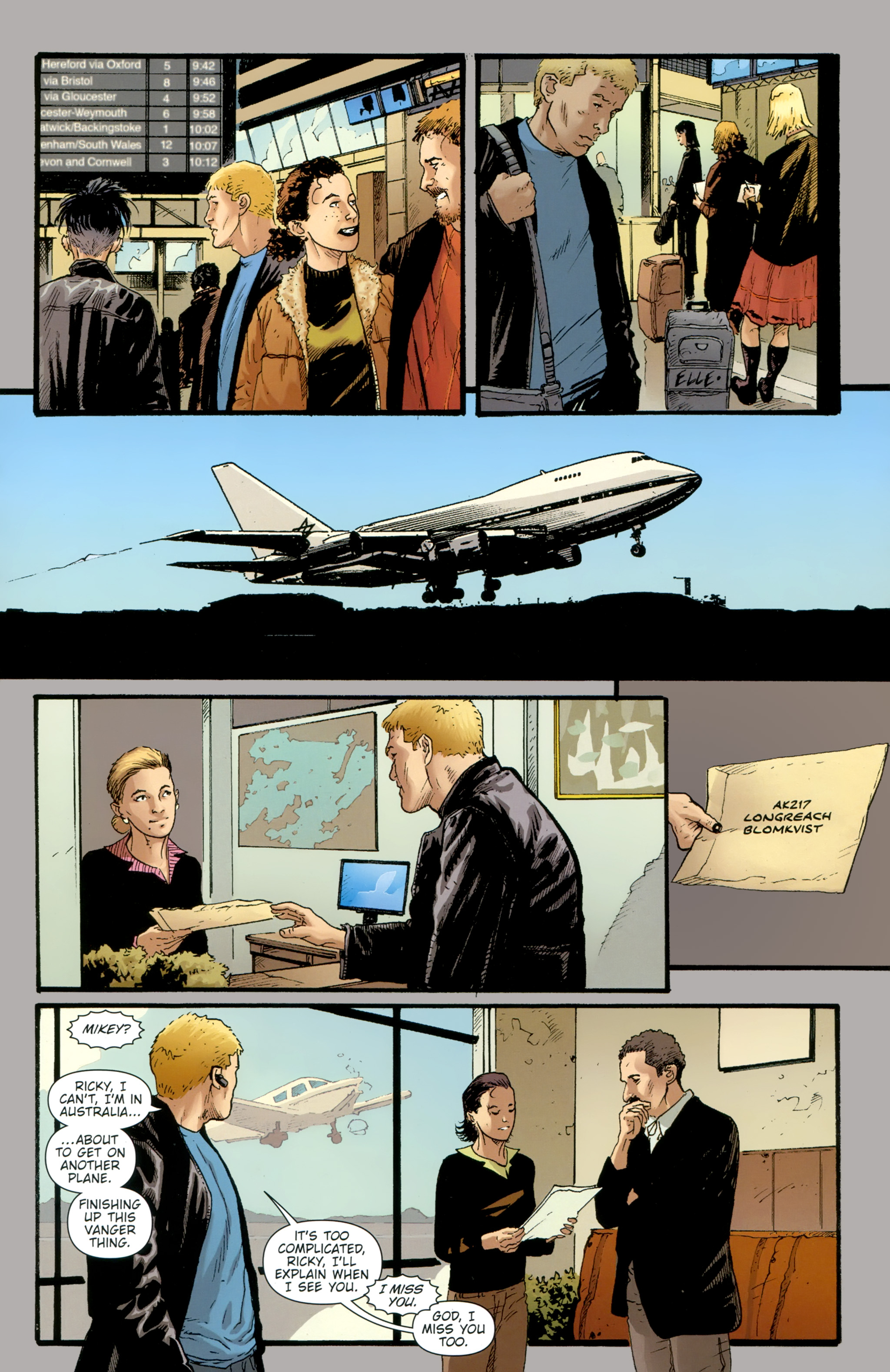 Read online The Girl With the Dragon Tattoo comic -  Issue # TPB 2 - 133