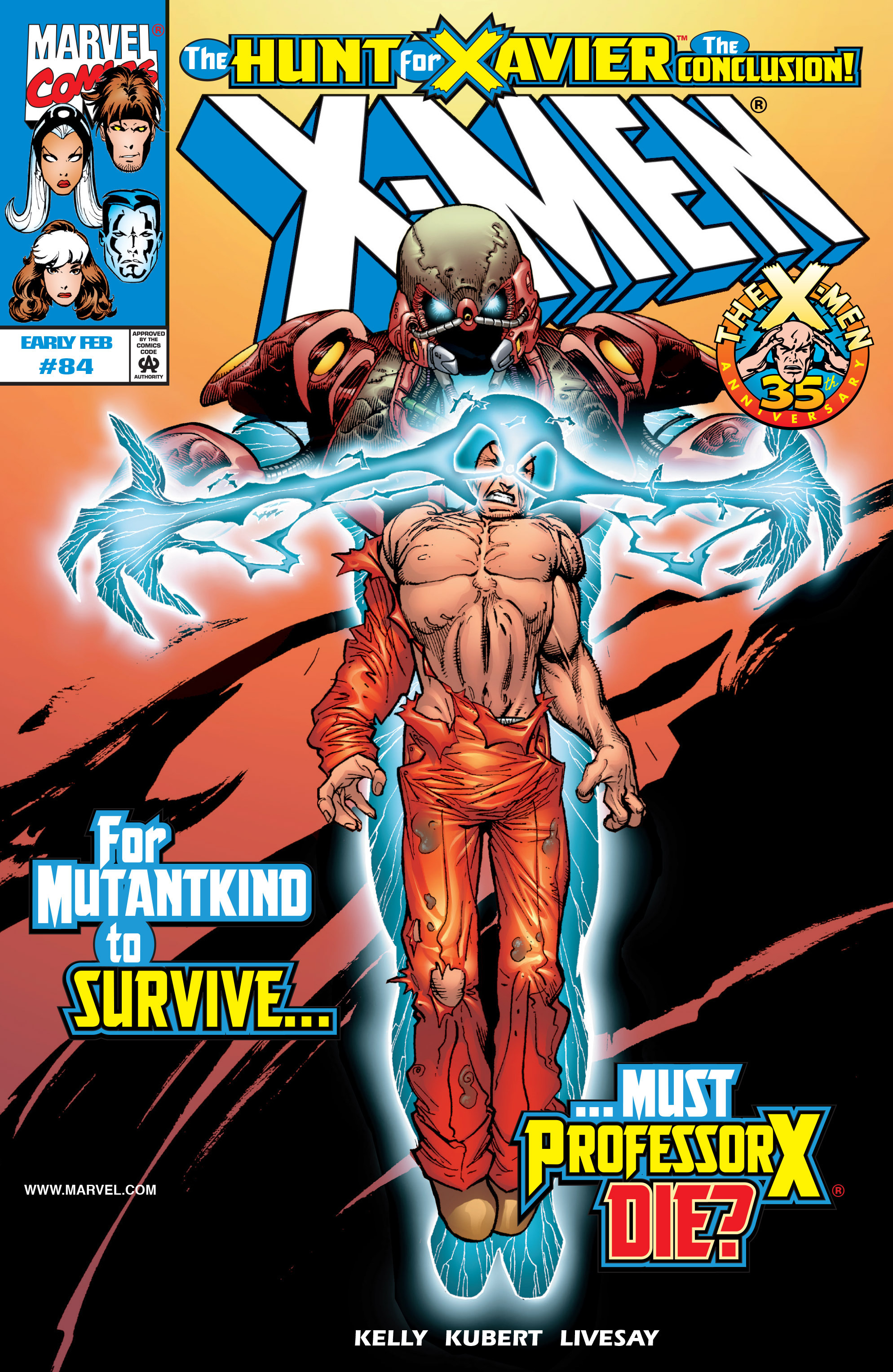 X-Men (1991) 84 Page 0