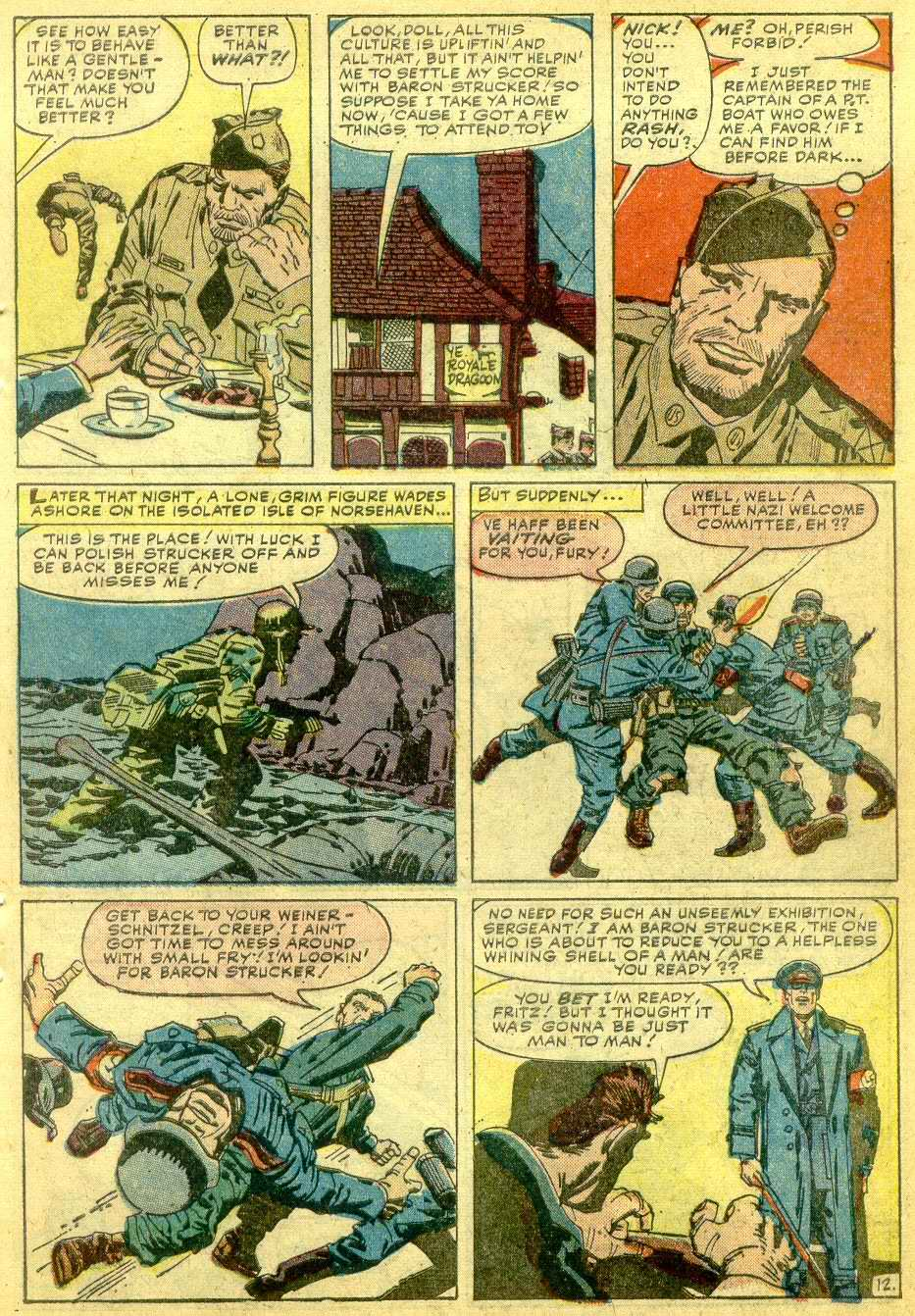 Read online Sgt. Fury comic -  Issue # _Annual 1 - 59