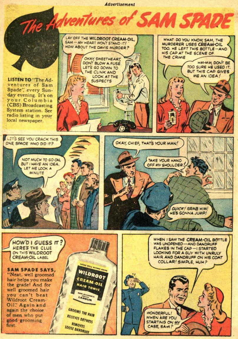 Read online Sensation (Mystery) Comics comic -  Issue #69 - 18