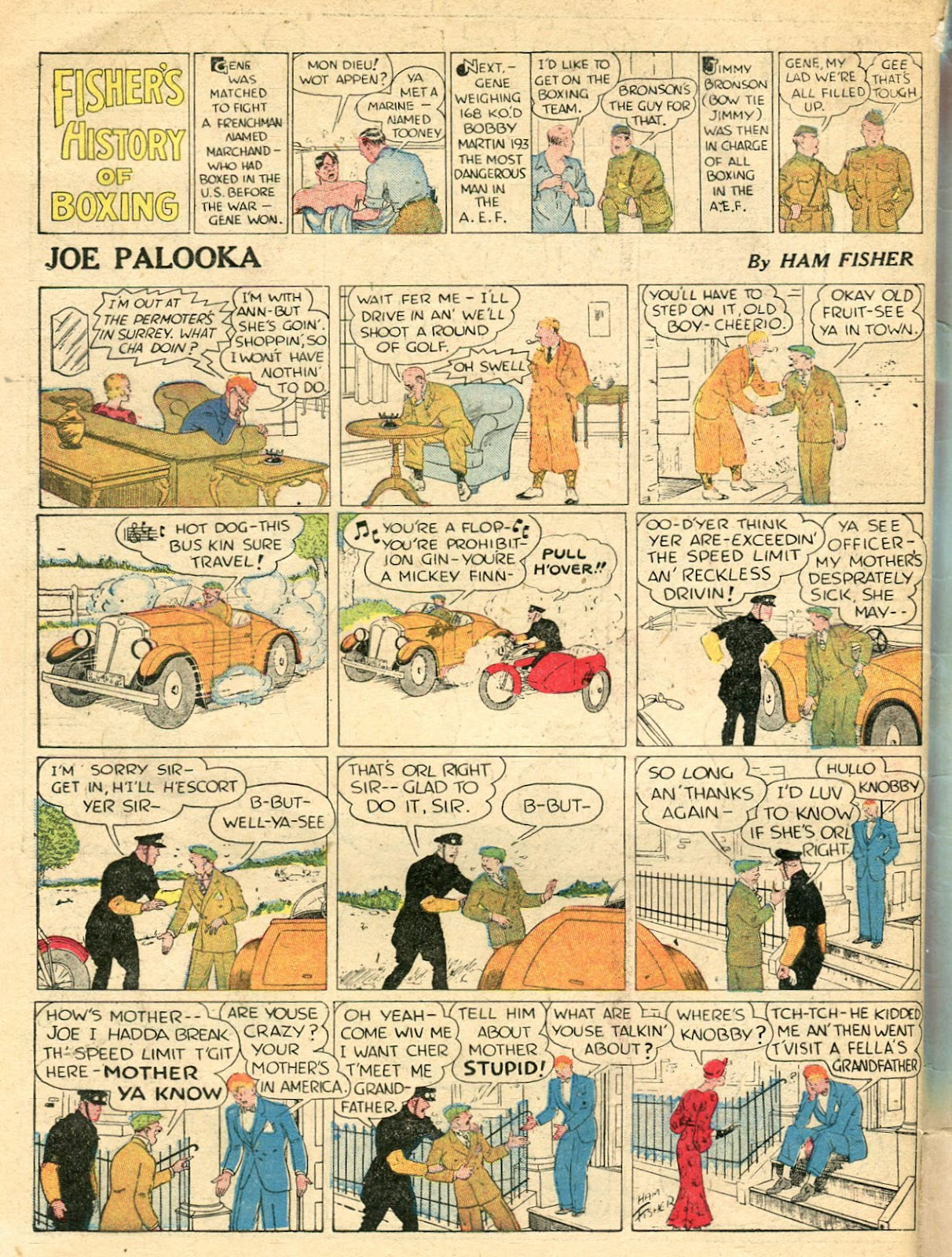 Read online Famous Funnies comic -  Issue #33 - 66