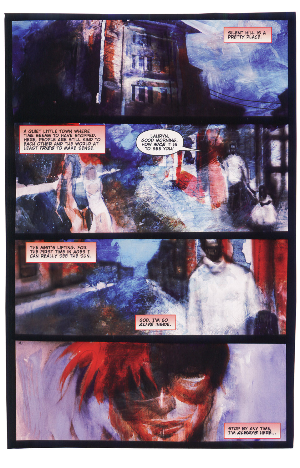 Read online Silent Hill: Dying Inside comic -  Issue #5 - 24