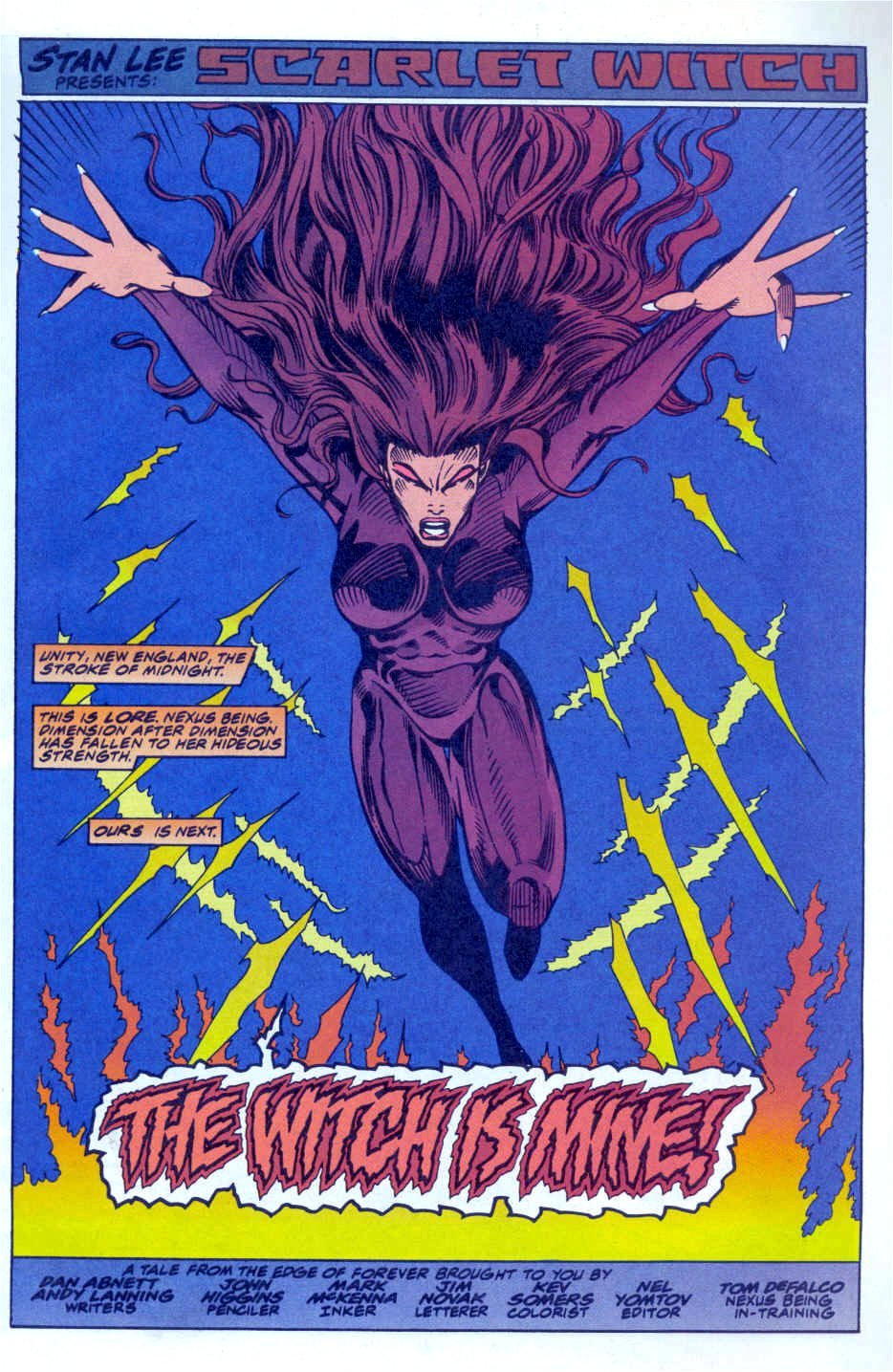 Scarlet Witch (1994) Issue #4 #4 - English 3