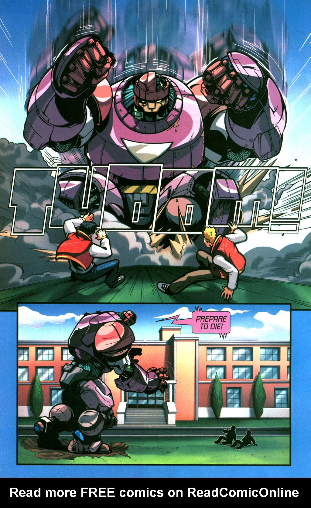 Read online Sentinel comic -  Issue #6 - 8