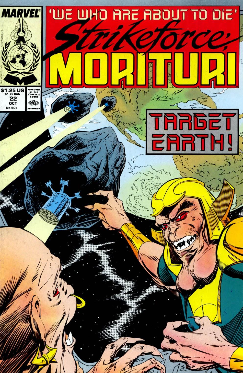 Strikeforce: Morituri 22 Page 1