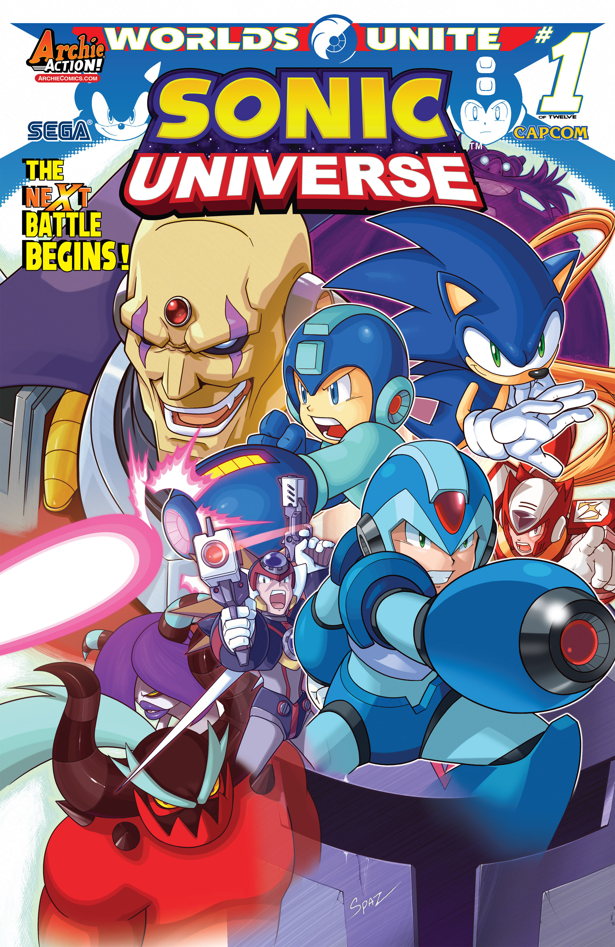 Sonic Universe 76 Page 1