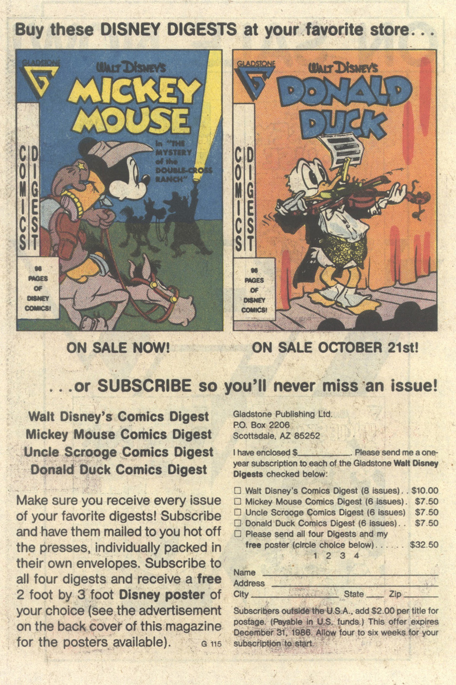 Read online Uncle Scrooge (1953) comic -  Issue #213 - 30