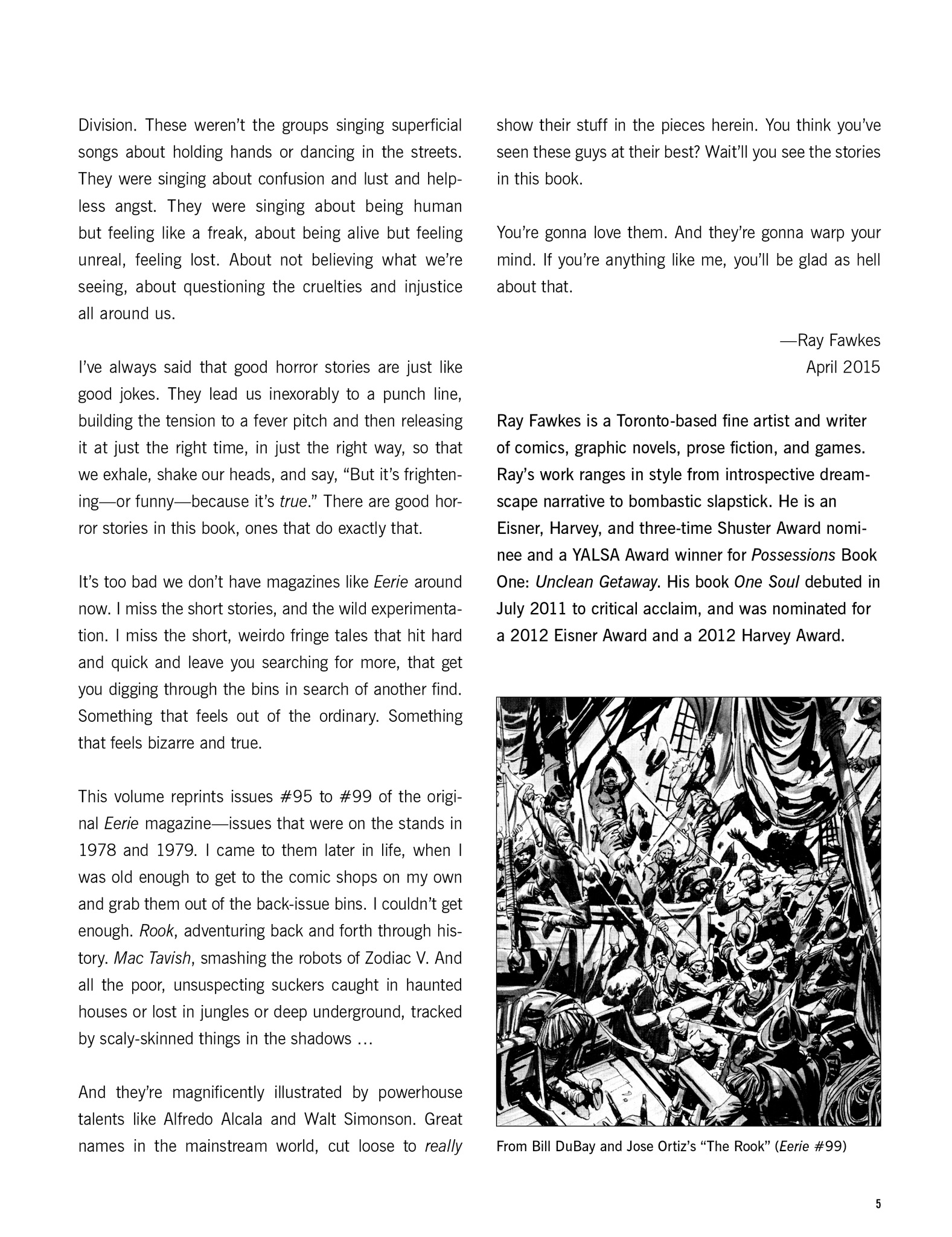 Read online Eerie Archives comic -  Issue # TPB 20 - 5