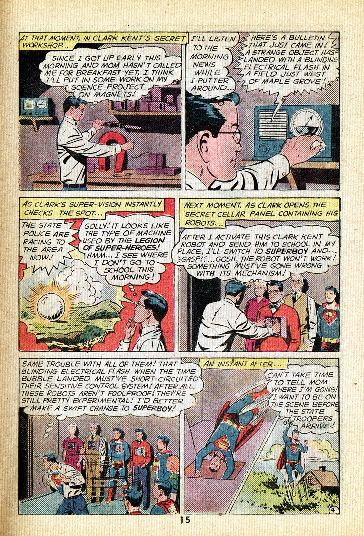 Read online Adventure Comics (1938) comic -  Issue #495 - 15