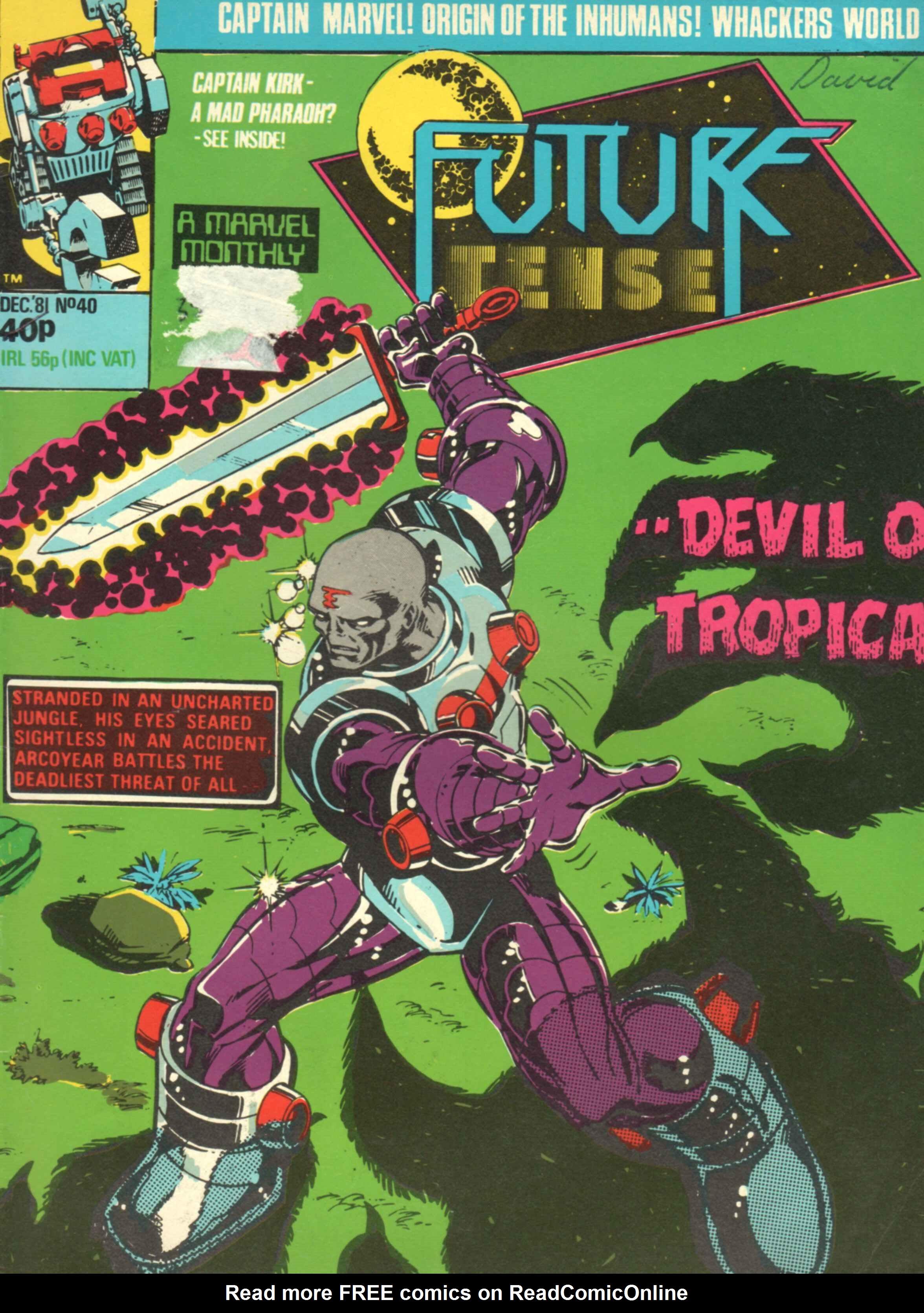 Read online Future Tense comic -  Issue #40 - 1