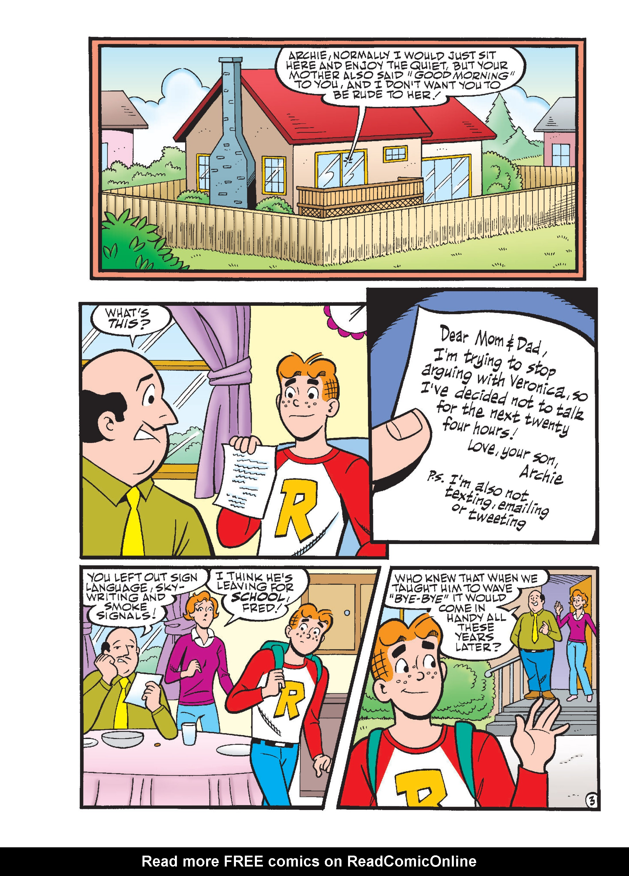 Read online Archie 1000 Page Comics Blowout! comic -  Issue # TPB (Part 1) - 203