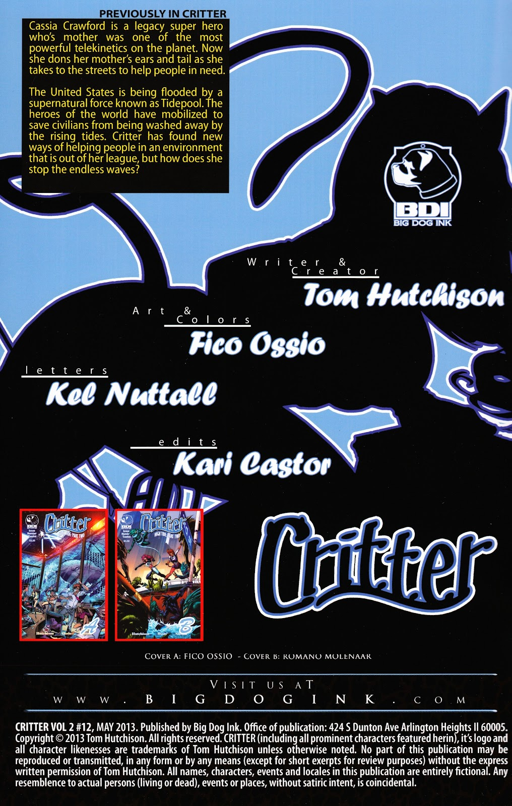 Read online Critter (2012) comic -  Issue #12 - 2