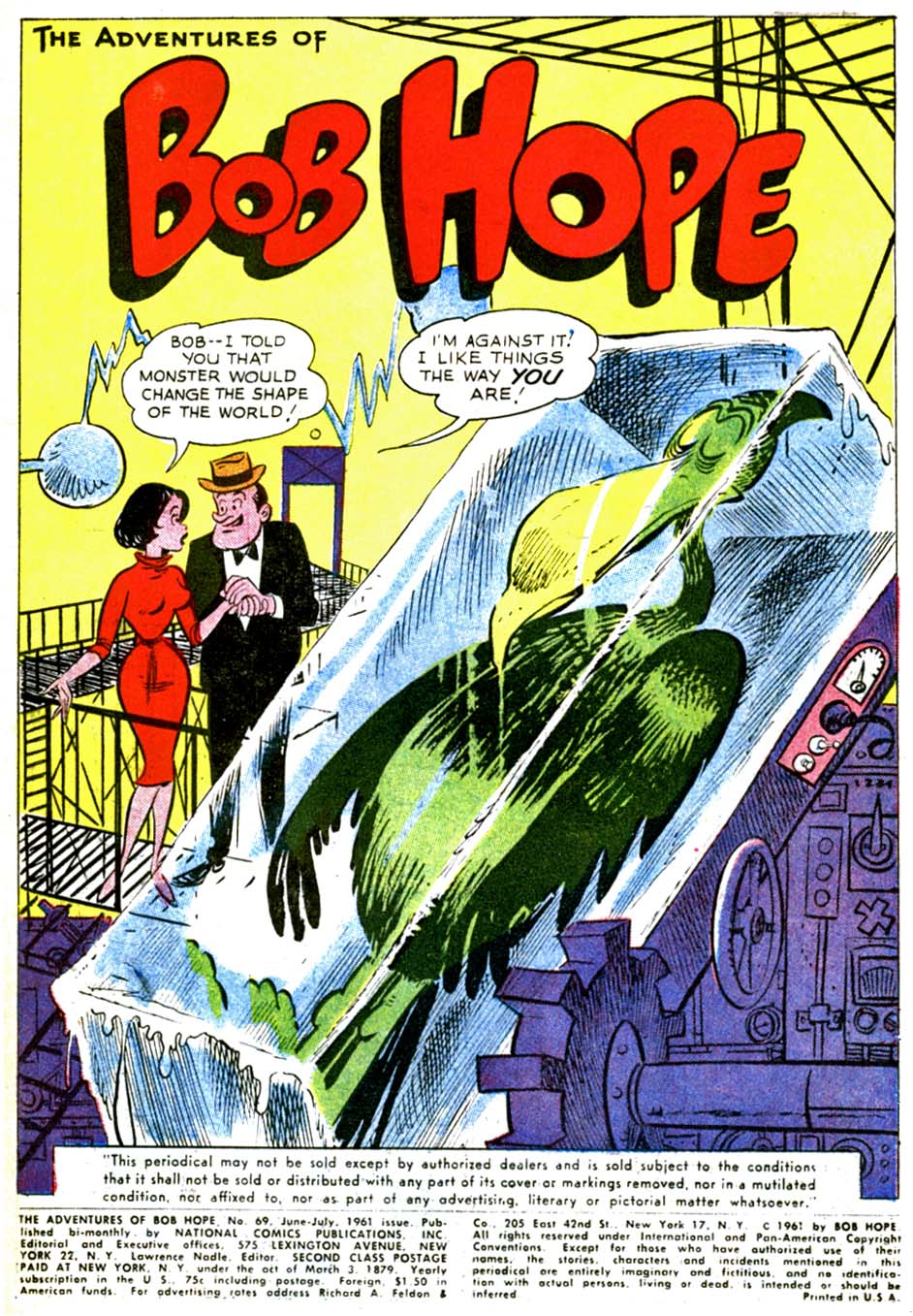 The Adventures of Bob Hope issue 69 - Page 3