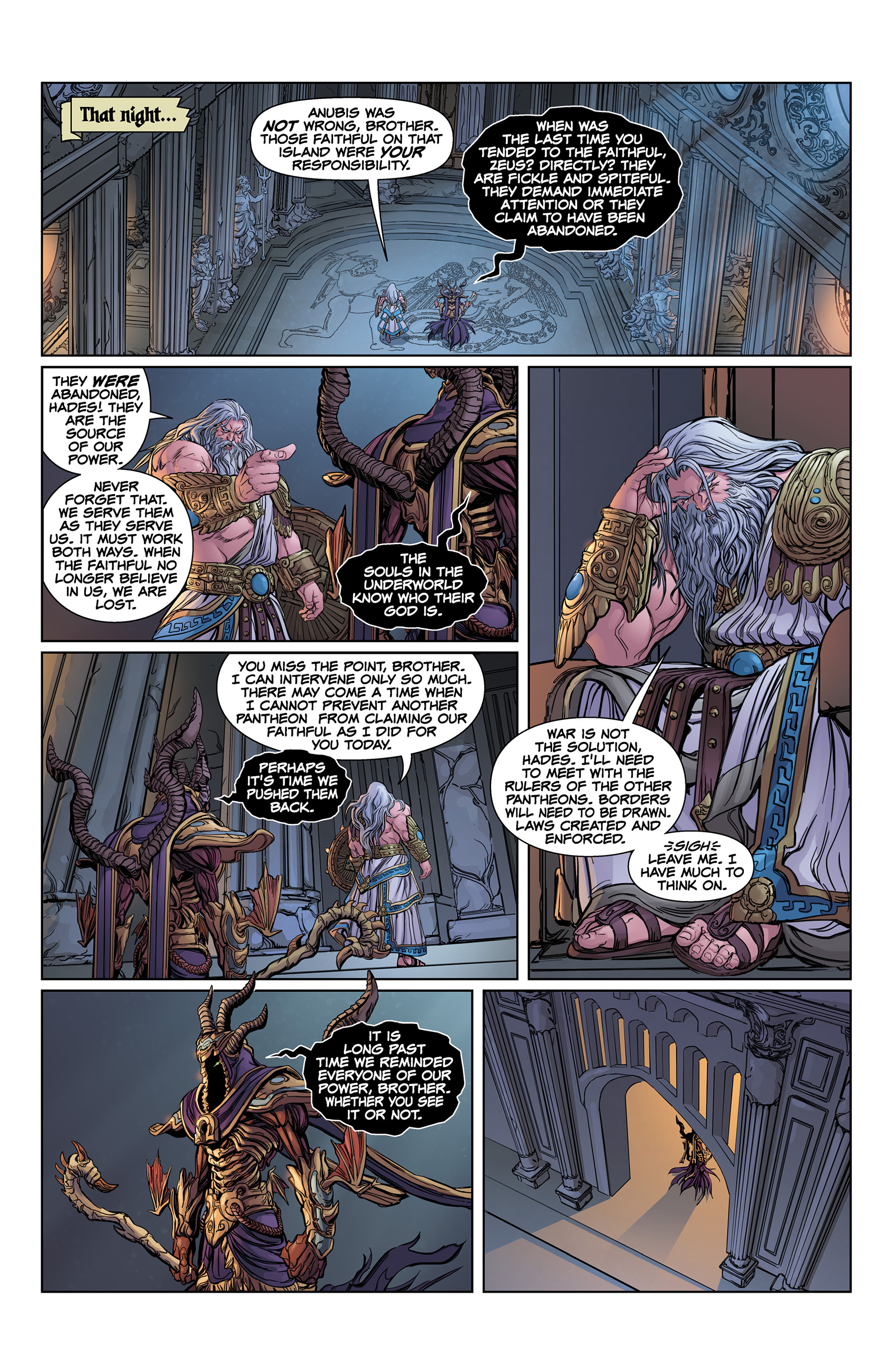 Read online SMITE: The Pantheon War comic -  Issue #1 - 14