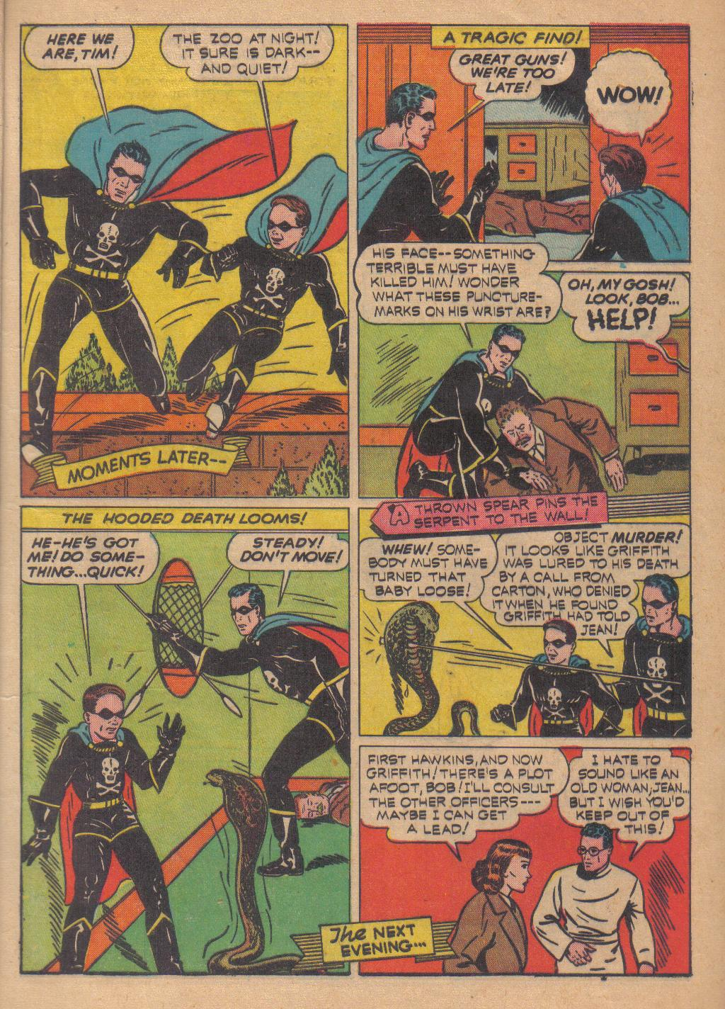 Exciting Comics (1940) issue 13 - Page 9