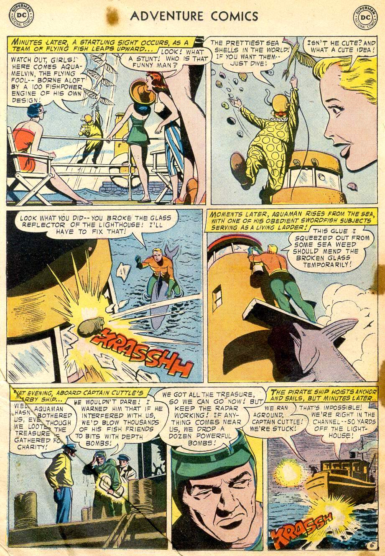 Read online Adventure Comics (1938) comic -  Issue #242 - 22