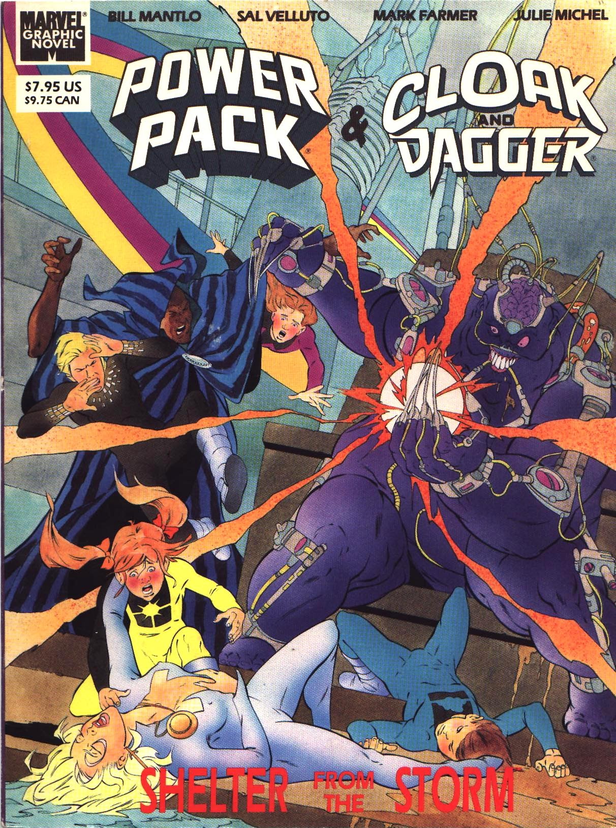 Marvel Graphic Novel: Cloak and Dagger and Power Pack: Shelter From The Storm TPB Page 1