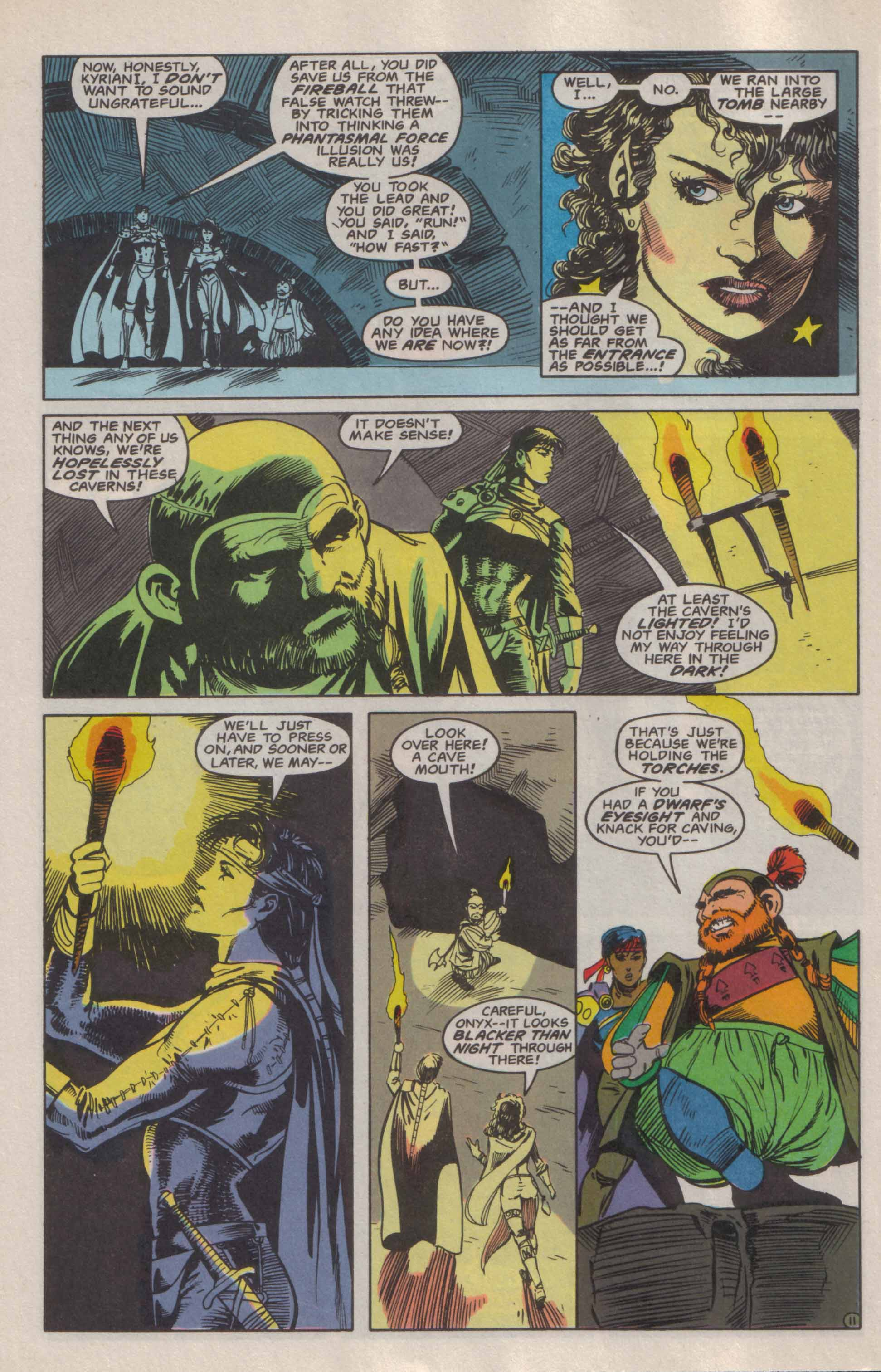 Read online Advanced Dungeons & Dragons comic -  Issue #6 - 12