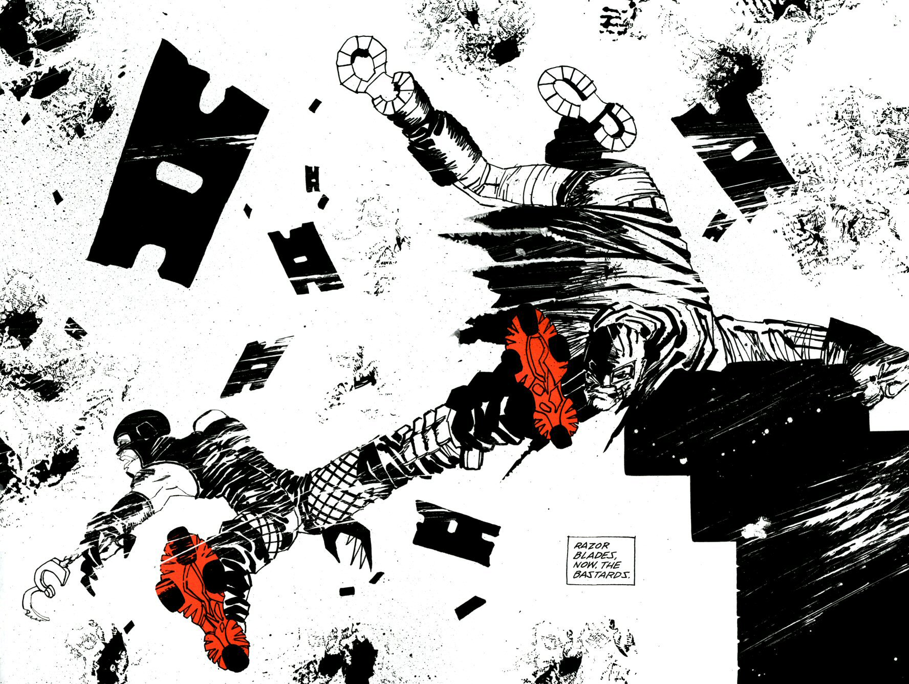 Read online Frank Miller's Holy Terror comic -  Issue # TPB - 50