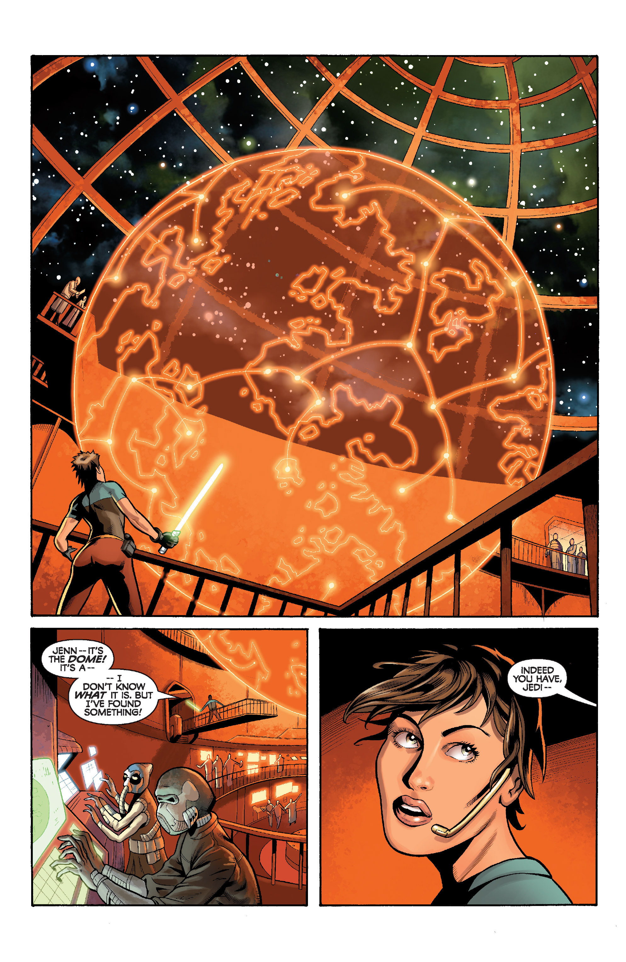 Read online Star Wars: Knight Errant - Deluge comic -  Issue #5 - 11